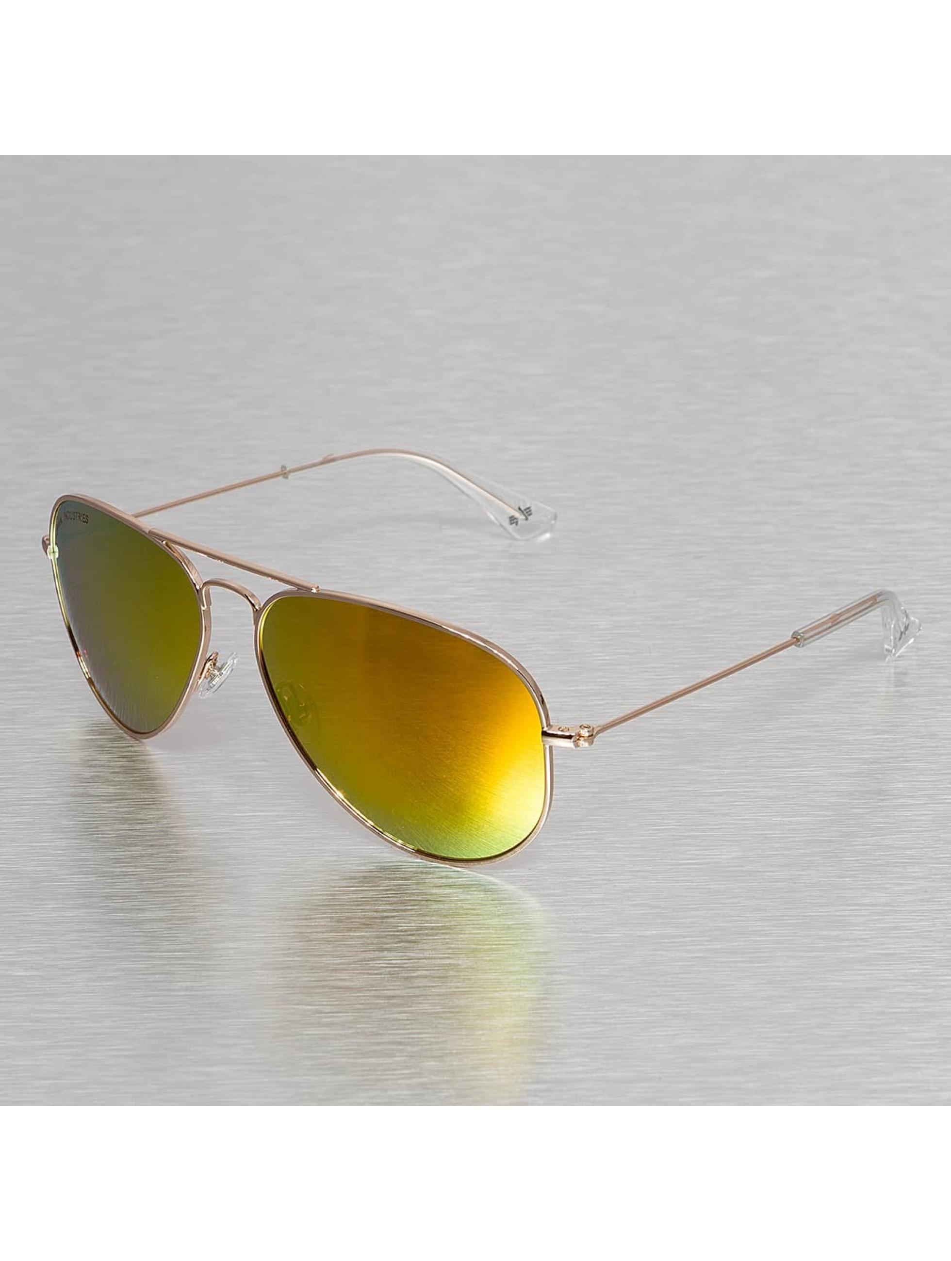 Sonnenbrille Top Gun in goldfarben