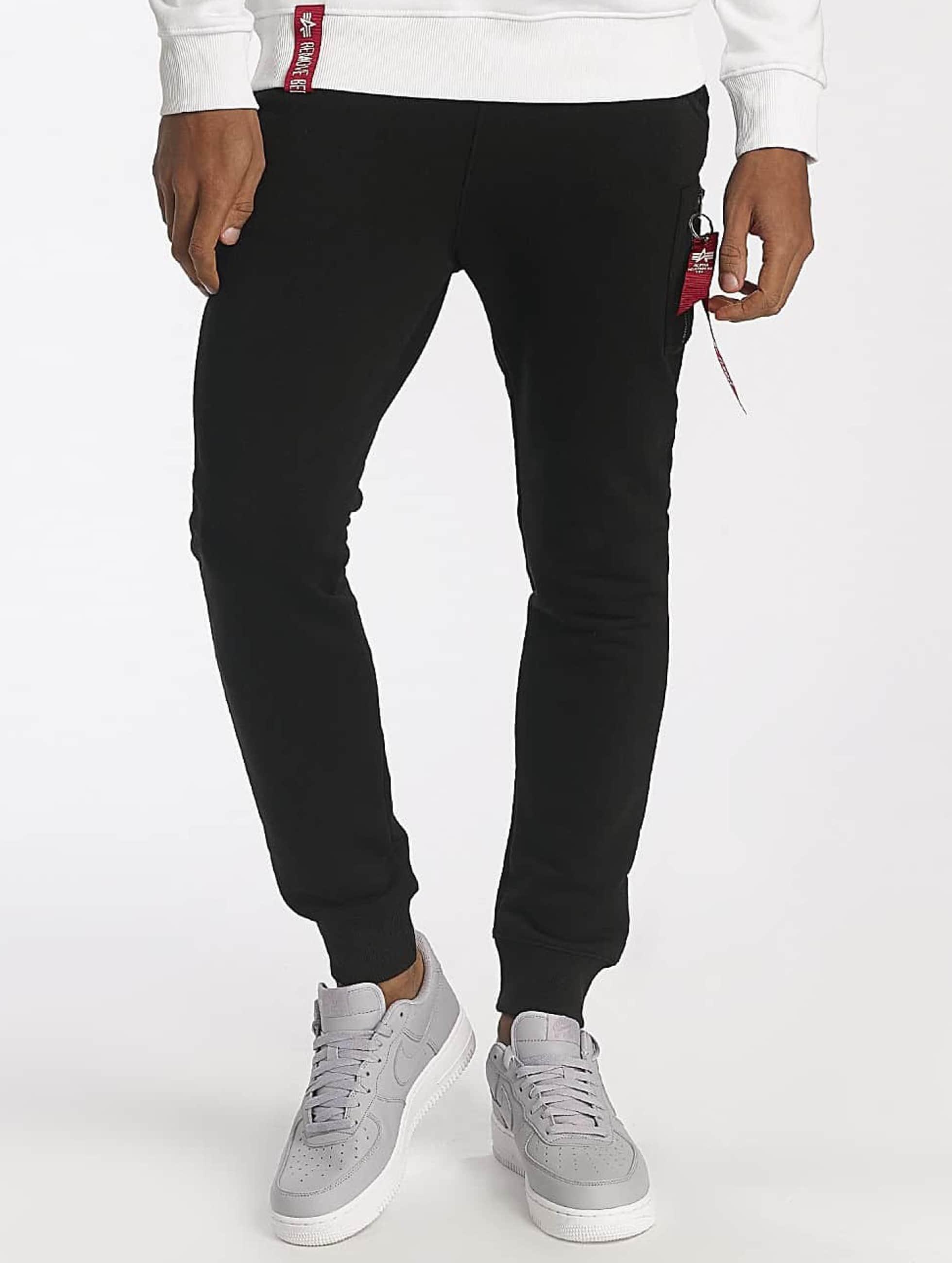 Alpha Industries Spodnie do joggingu X-Fit czarny