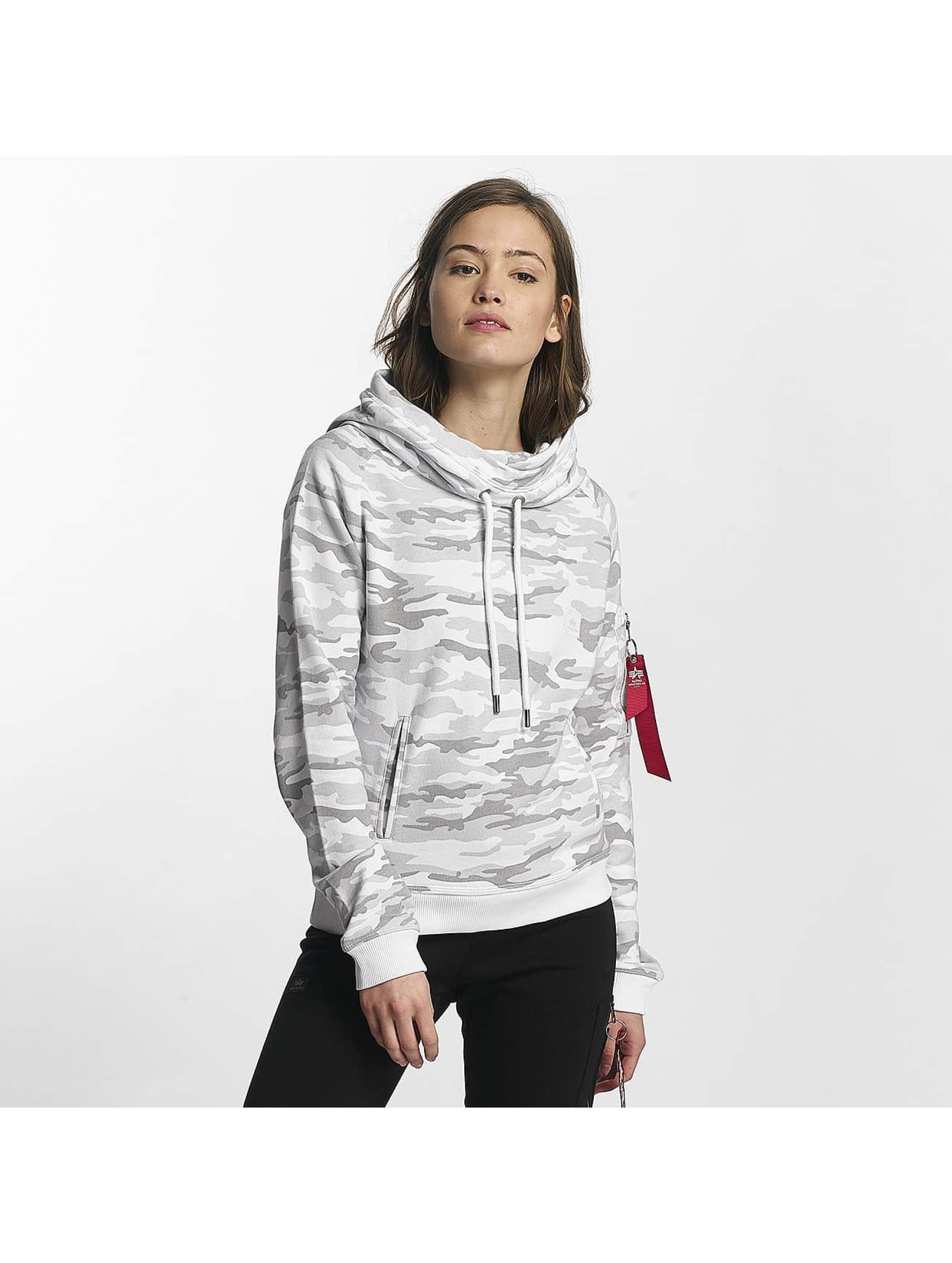Alpha Industries Sudadera X-Fit blanco