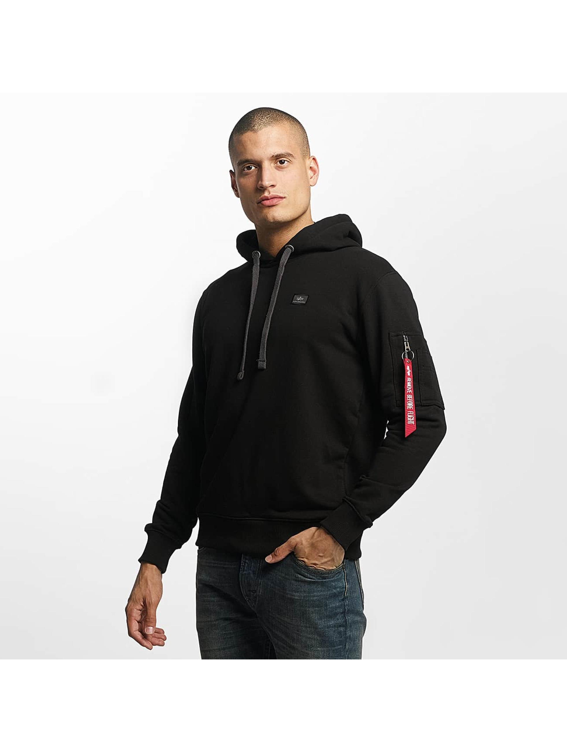 Alpha Industries Sweat capuche X-Fit noir