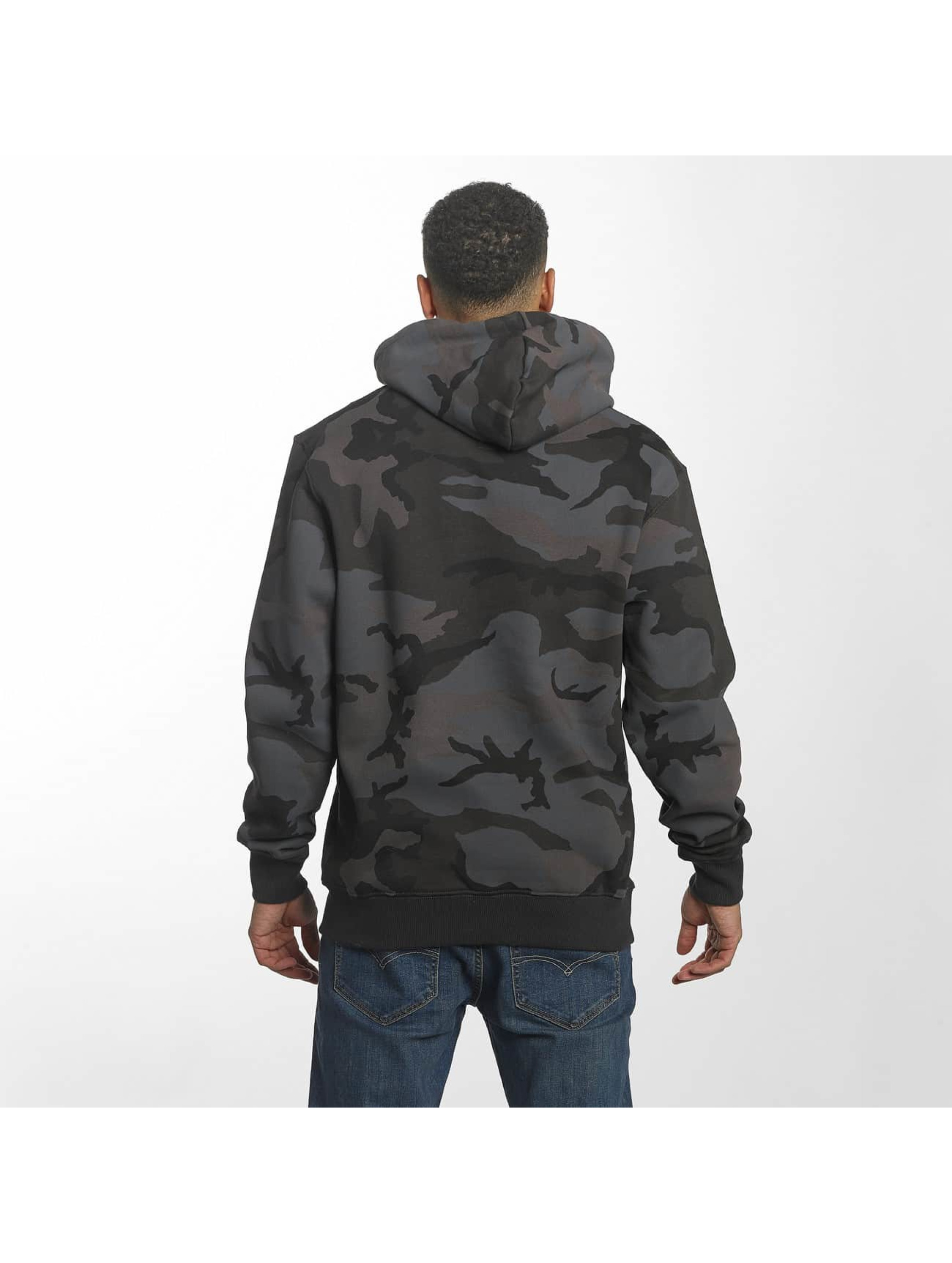 Alpha Industries Sweat capuche Foam Print noir
