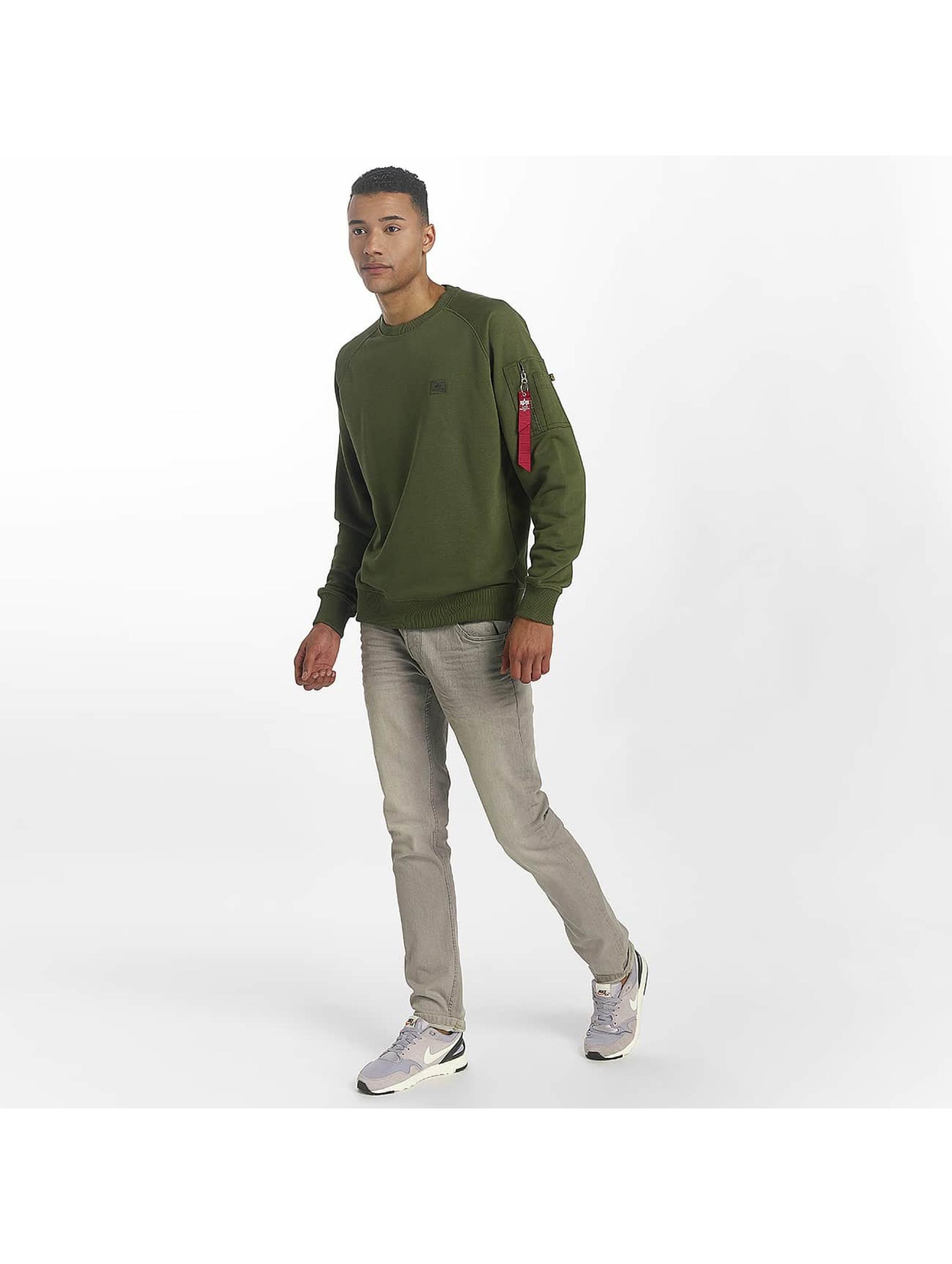 Alpha Industries Swetry X-Fit zielony