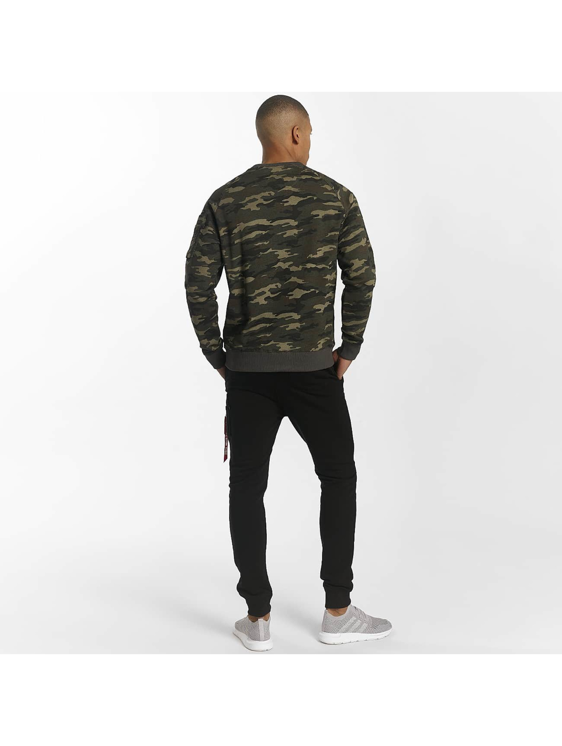 Alpha Industries Swetry X-Fit zielony