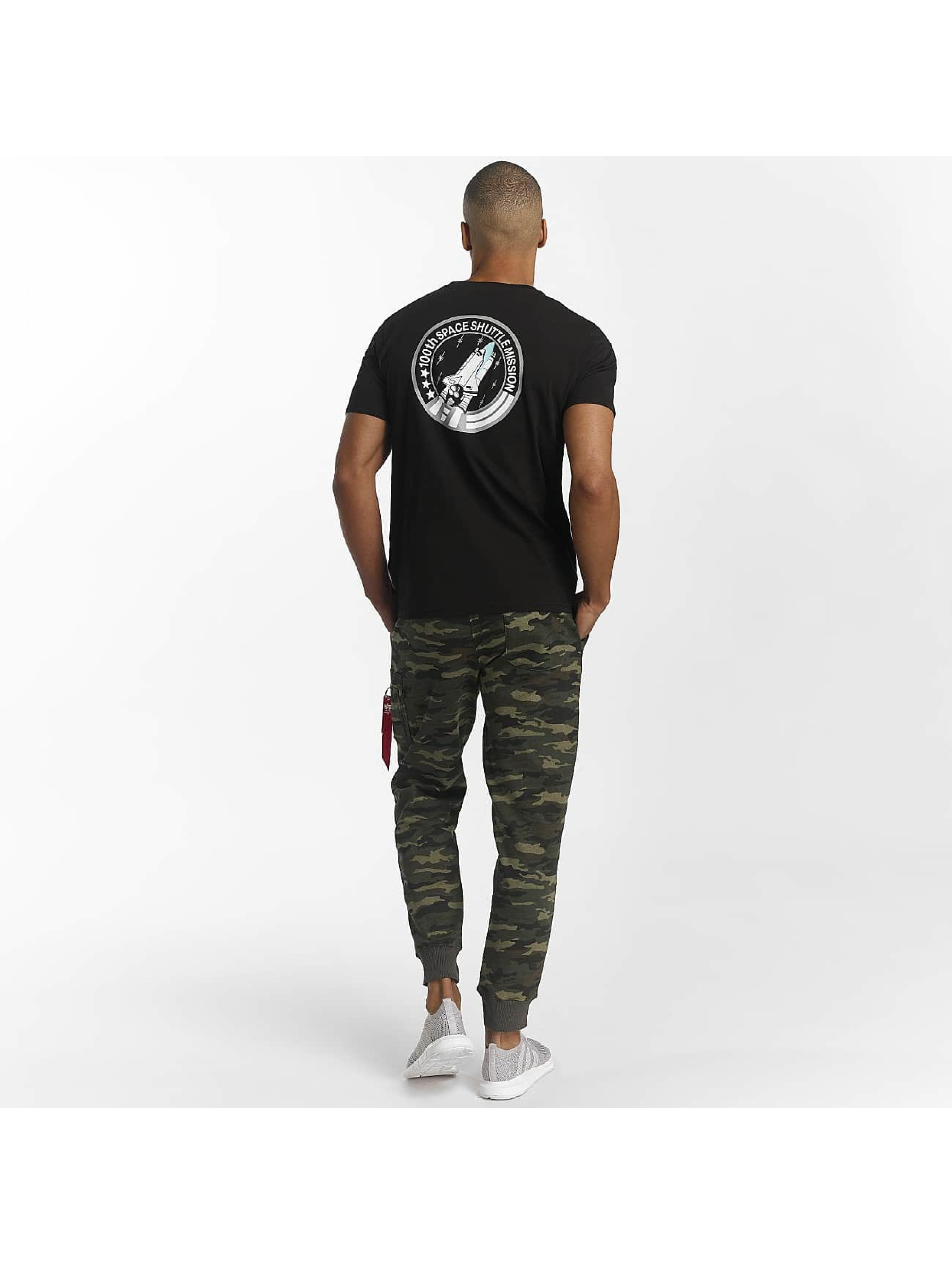 Alpha Industries T-Shirt Space Shuttle T black