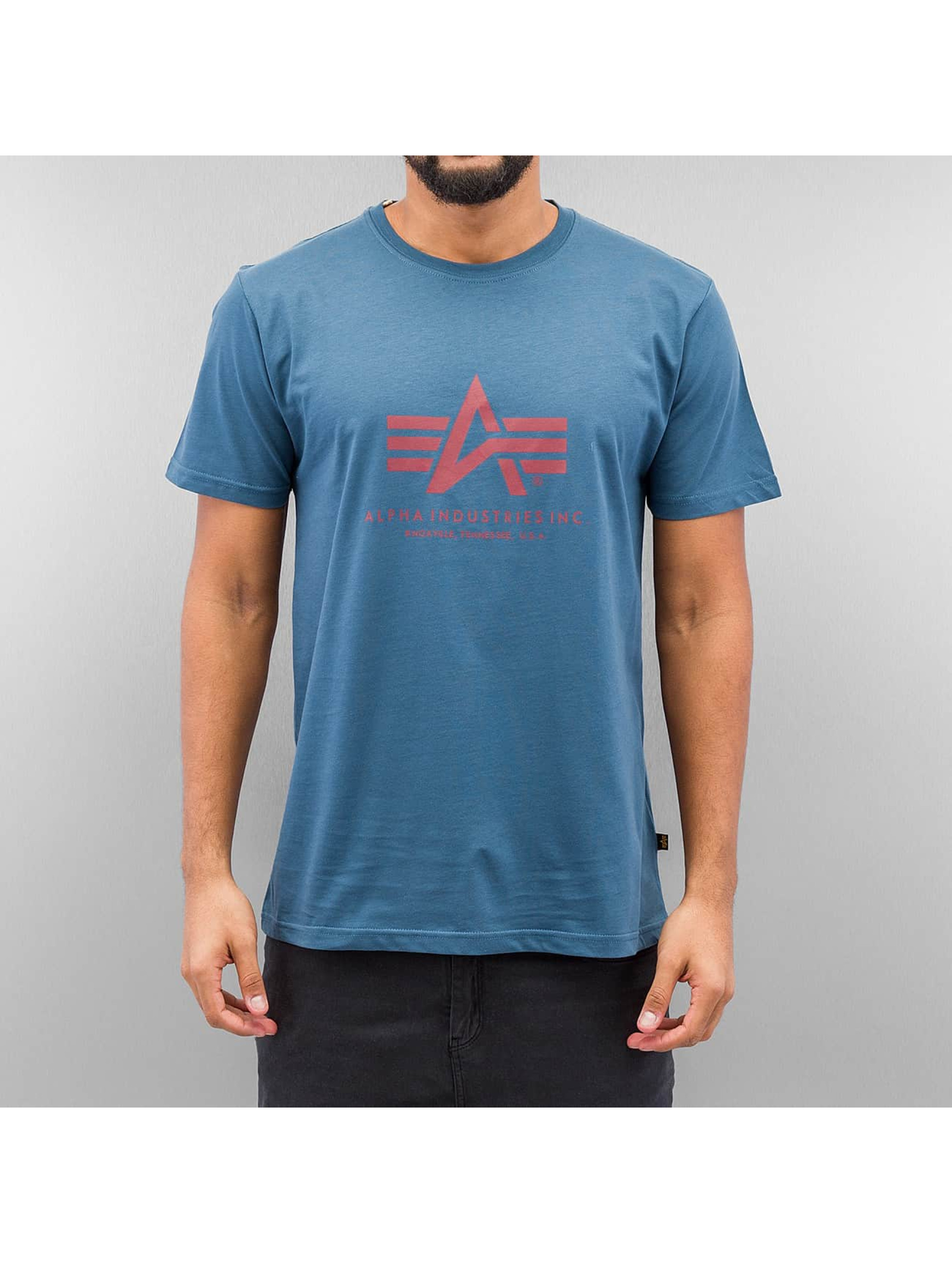 Alpha Industries T-Shirt Basic blau