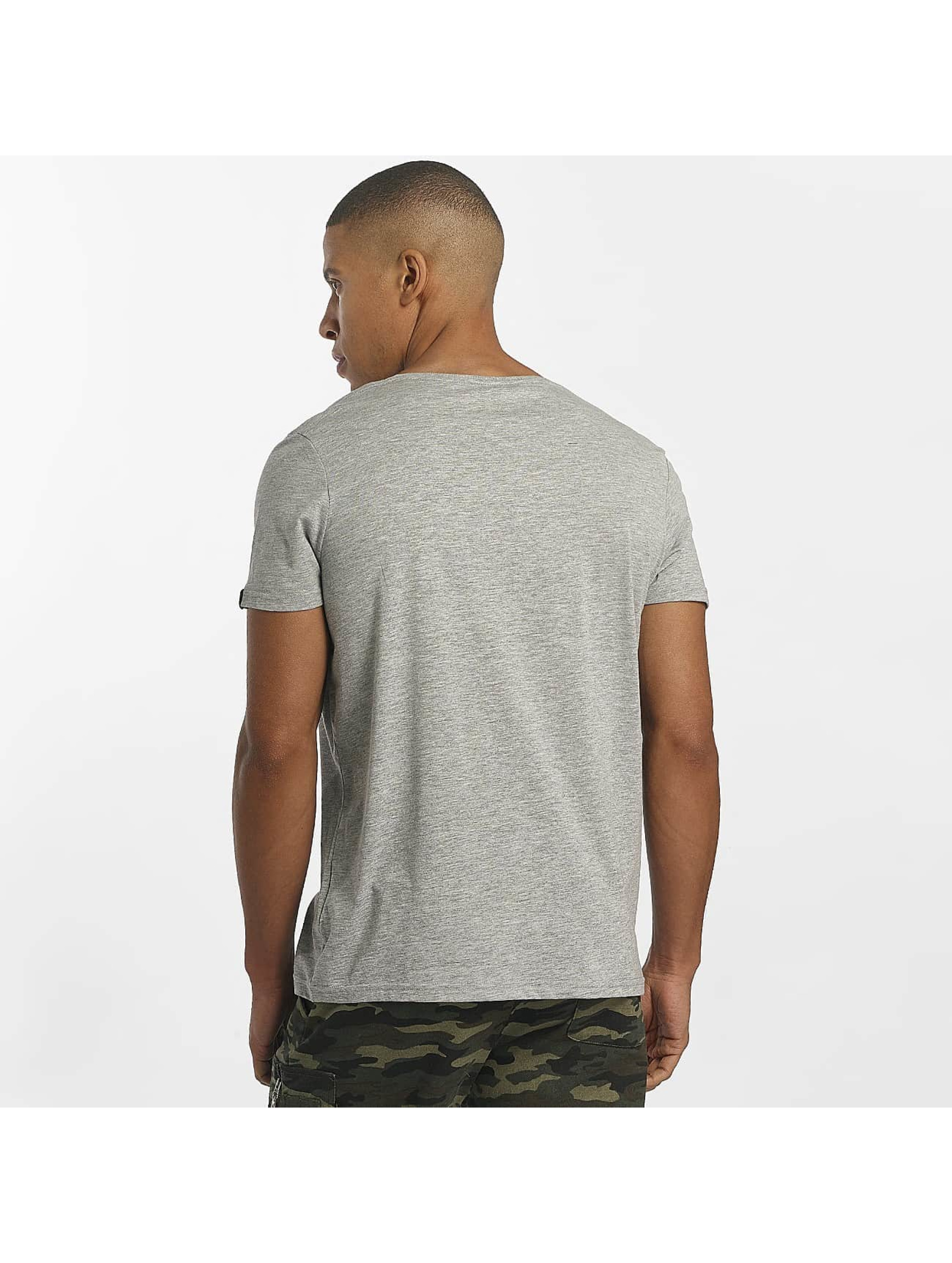 Alpha Industries T-Shirt Flash grau
