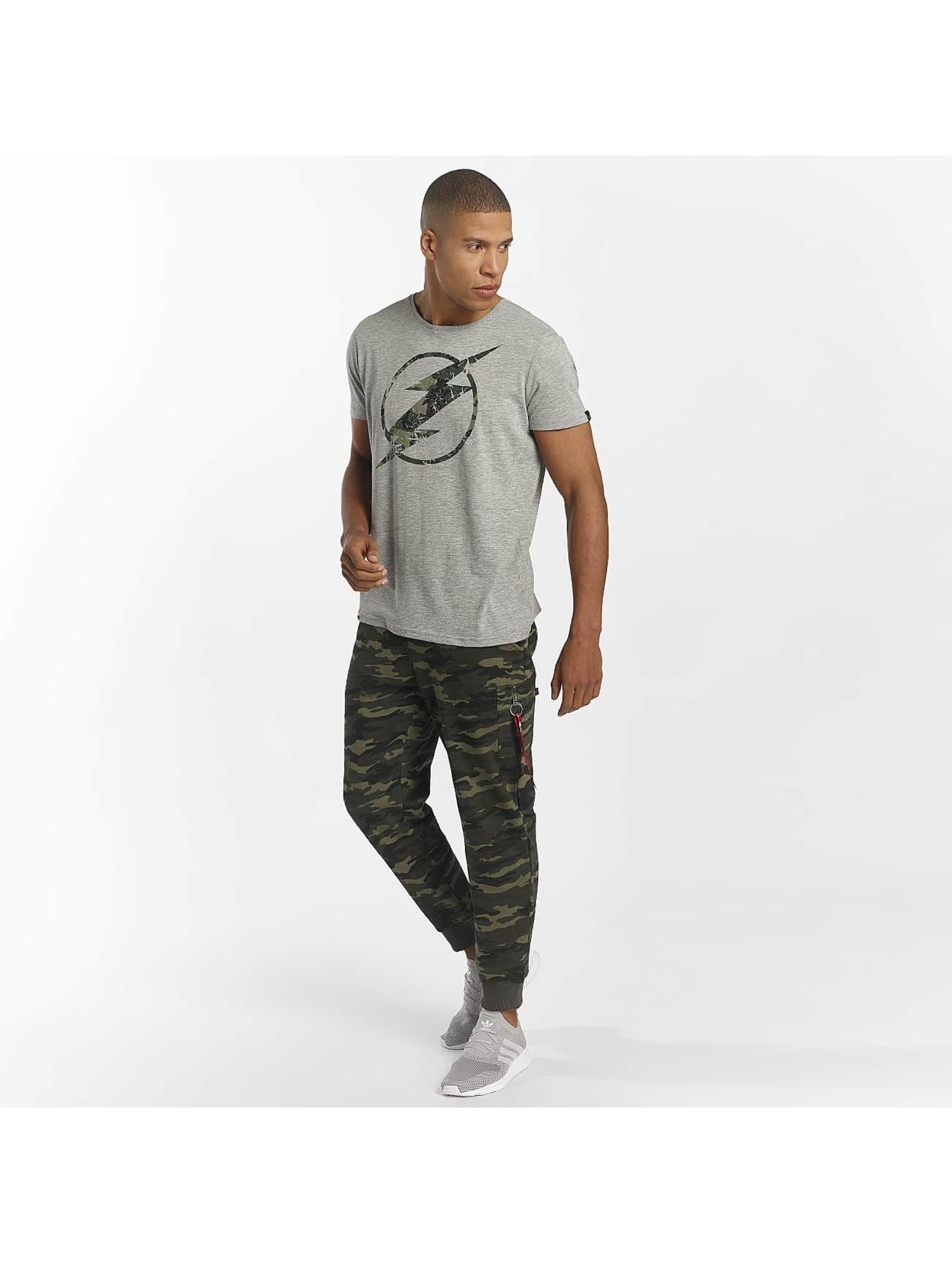 Alpha Industries T-Shirt Flash grey