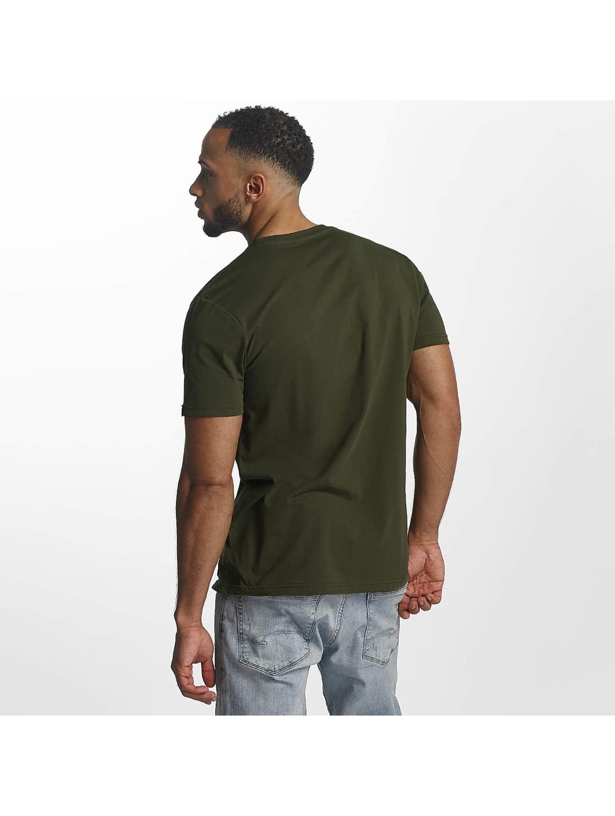 Alpha Industries t-shirt Basic groen