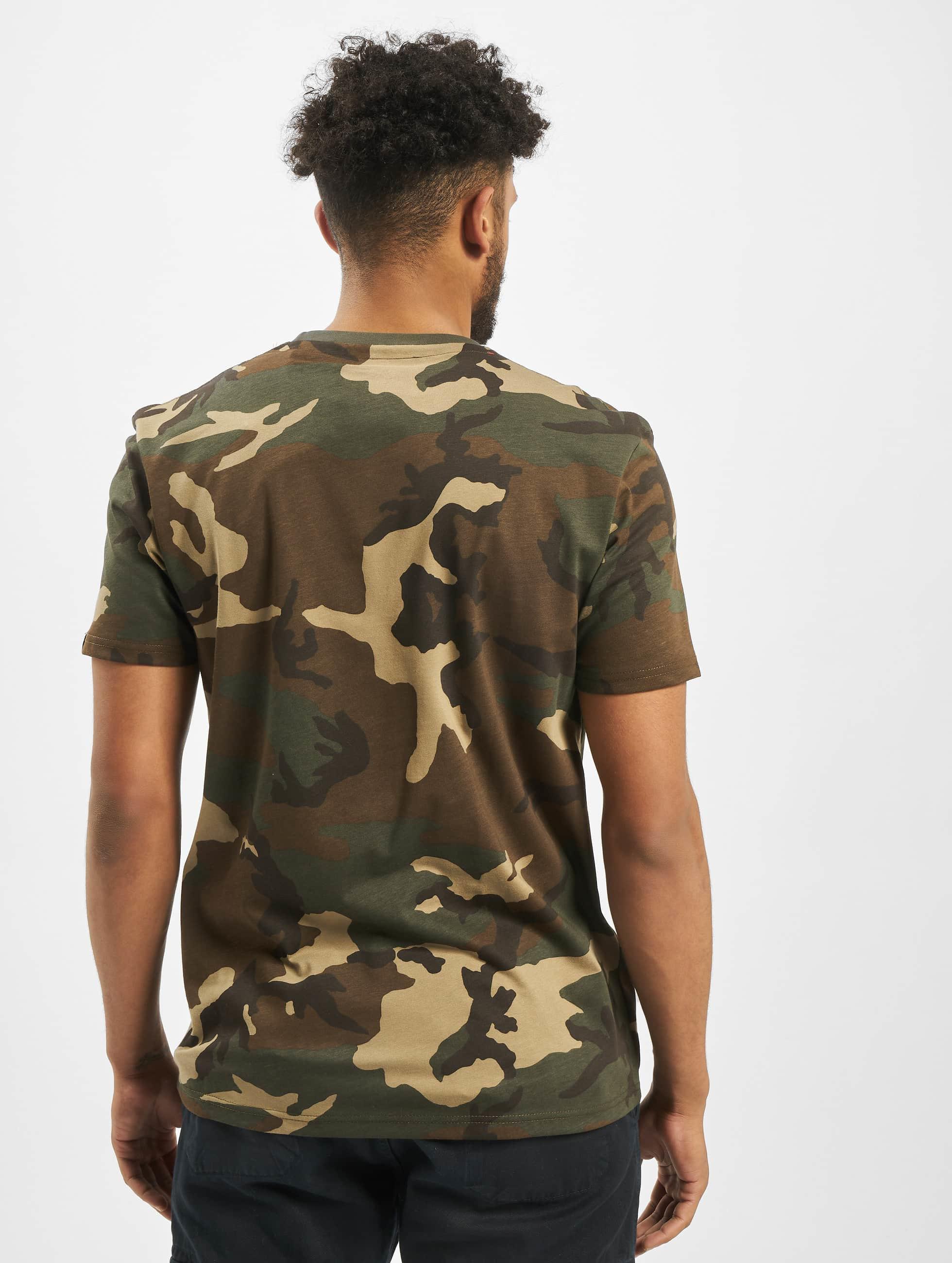 Alpha Industries T-shirt Blurred kamouflage