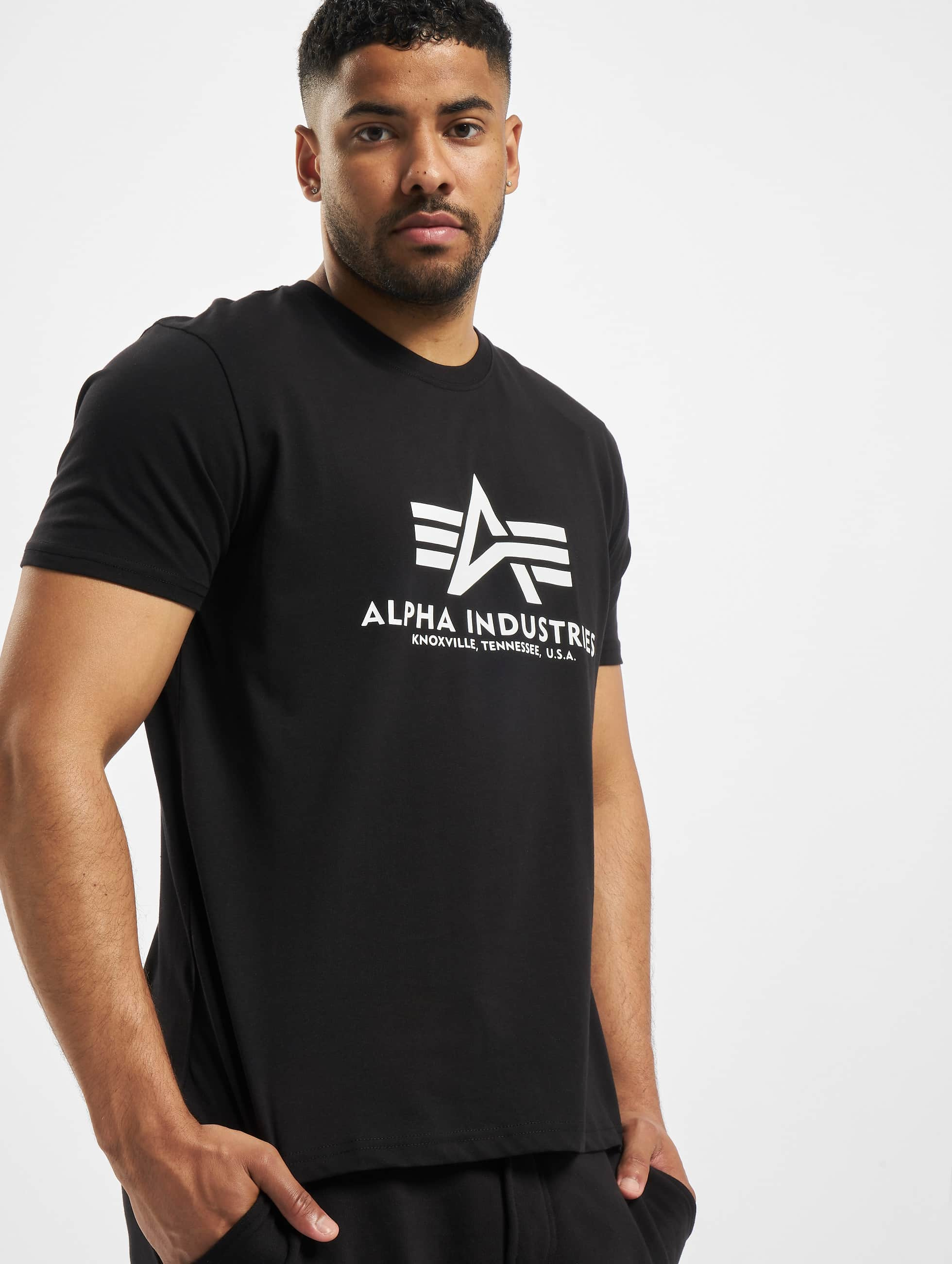 Alpha Industries T-Shirt Basic noir