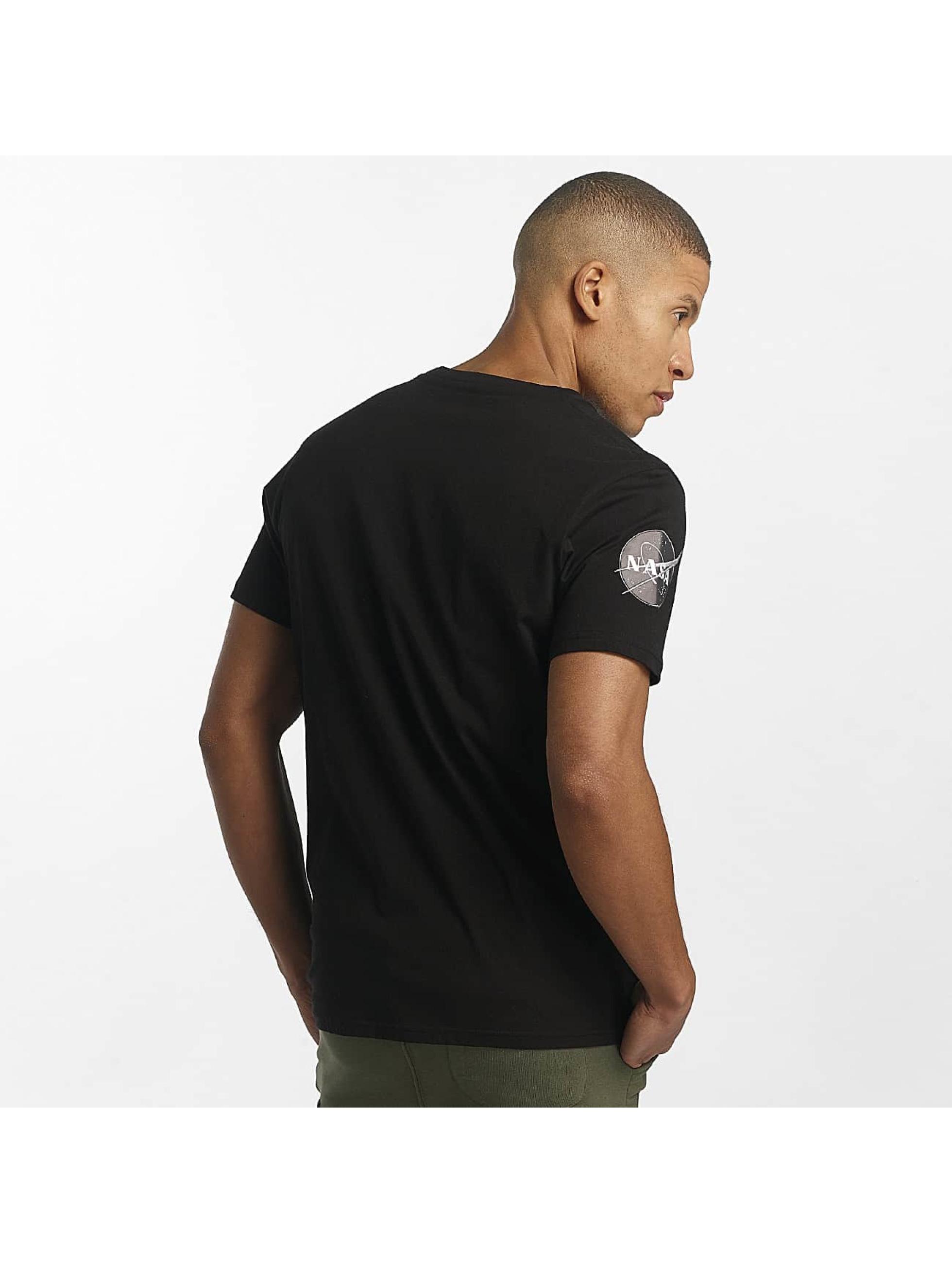 Alpha Industries T-Shirt NASA noir