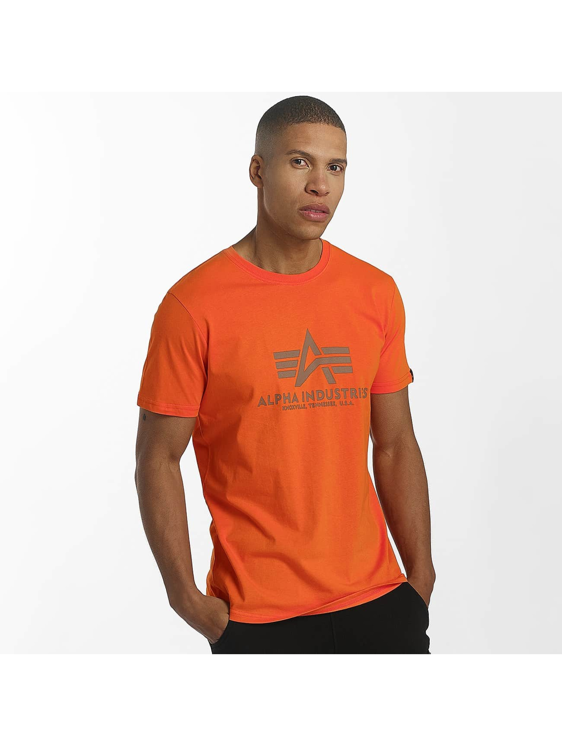 Alpha Industries T-Shirt Basic rouge
