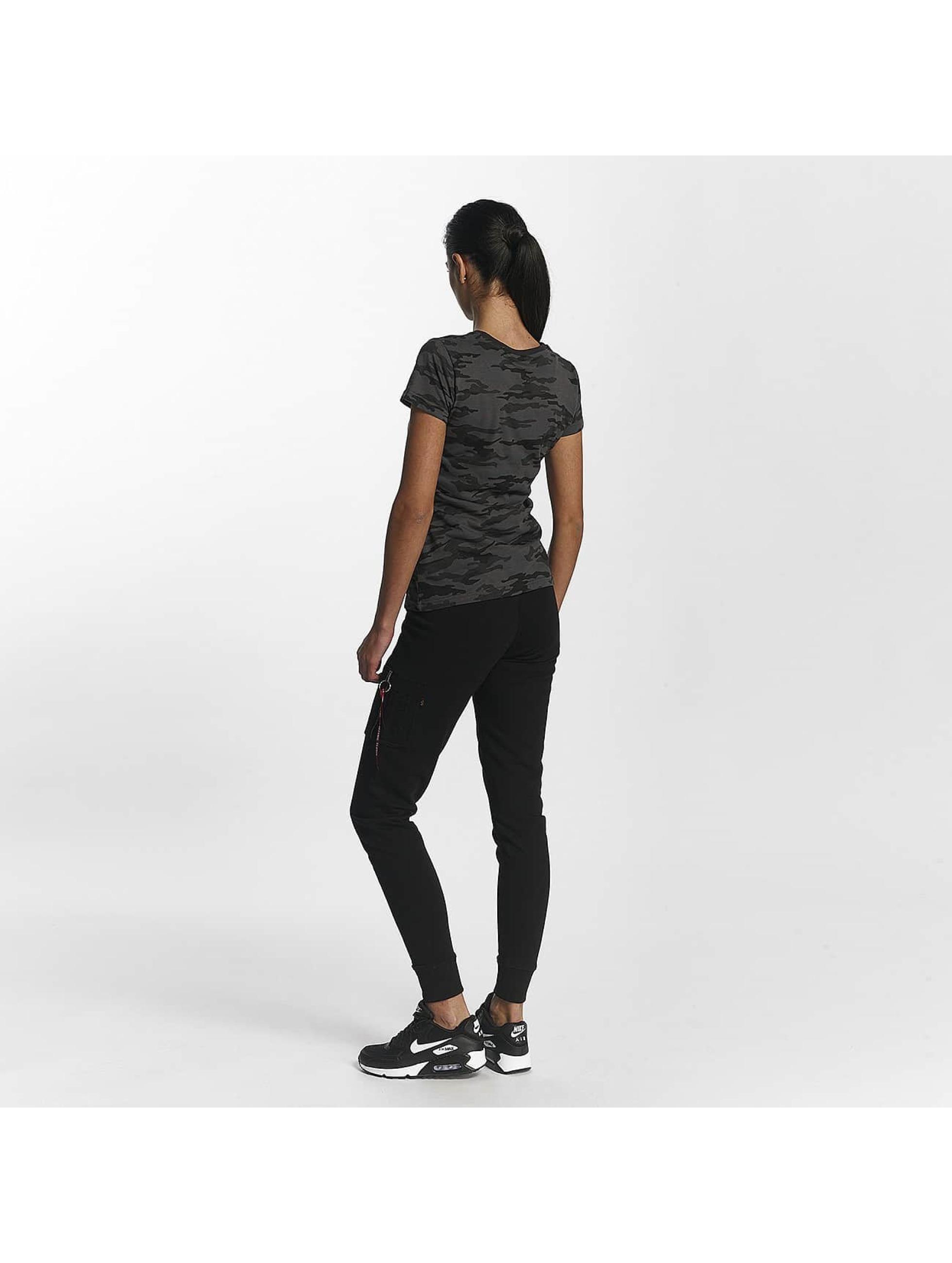 Alpha Industries T-shirt Basic T Wmn svart