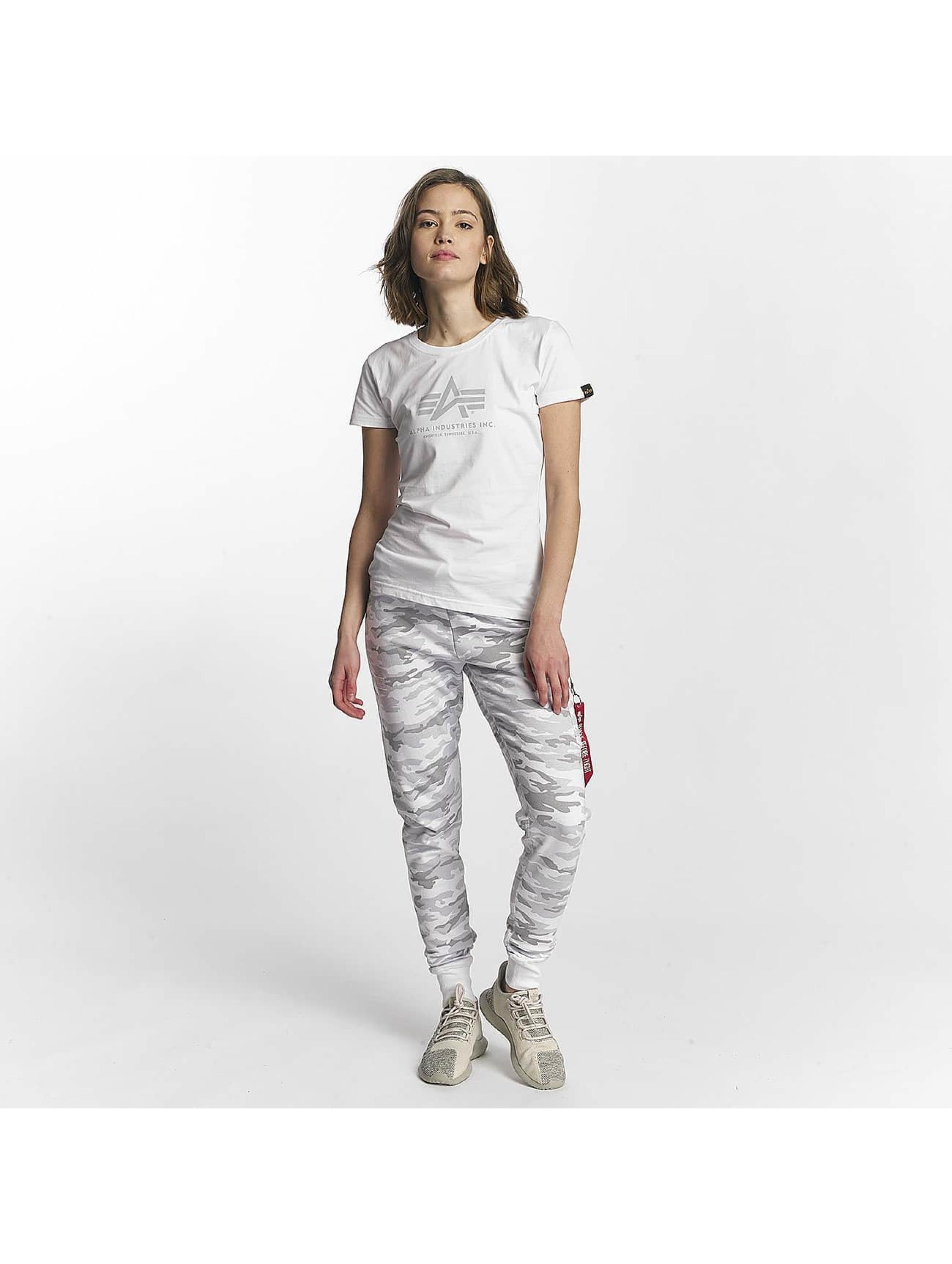 Alpha Industries T-Shirt Logo white