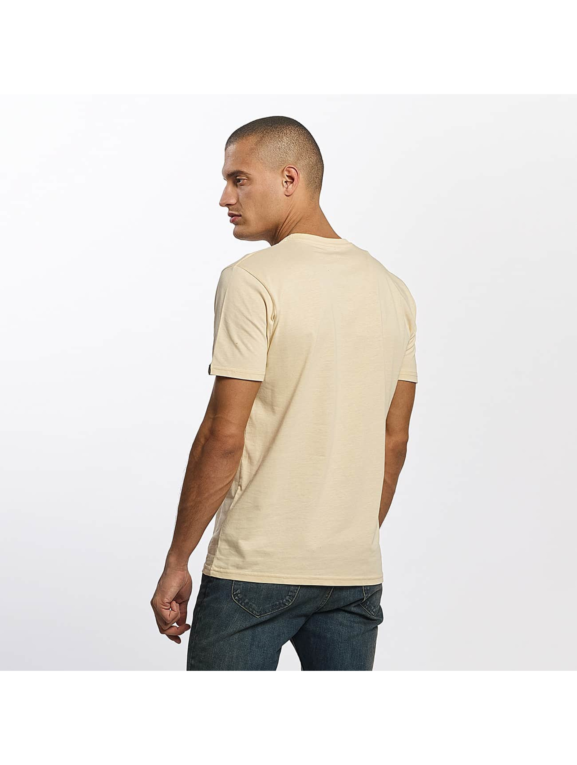 Alpha Industries T-Shirty Basic bezowy