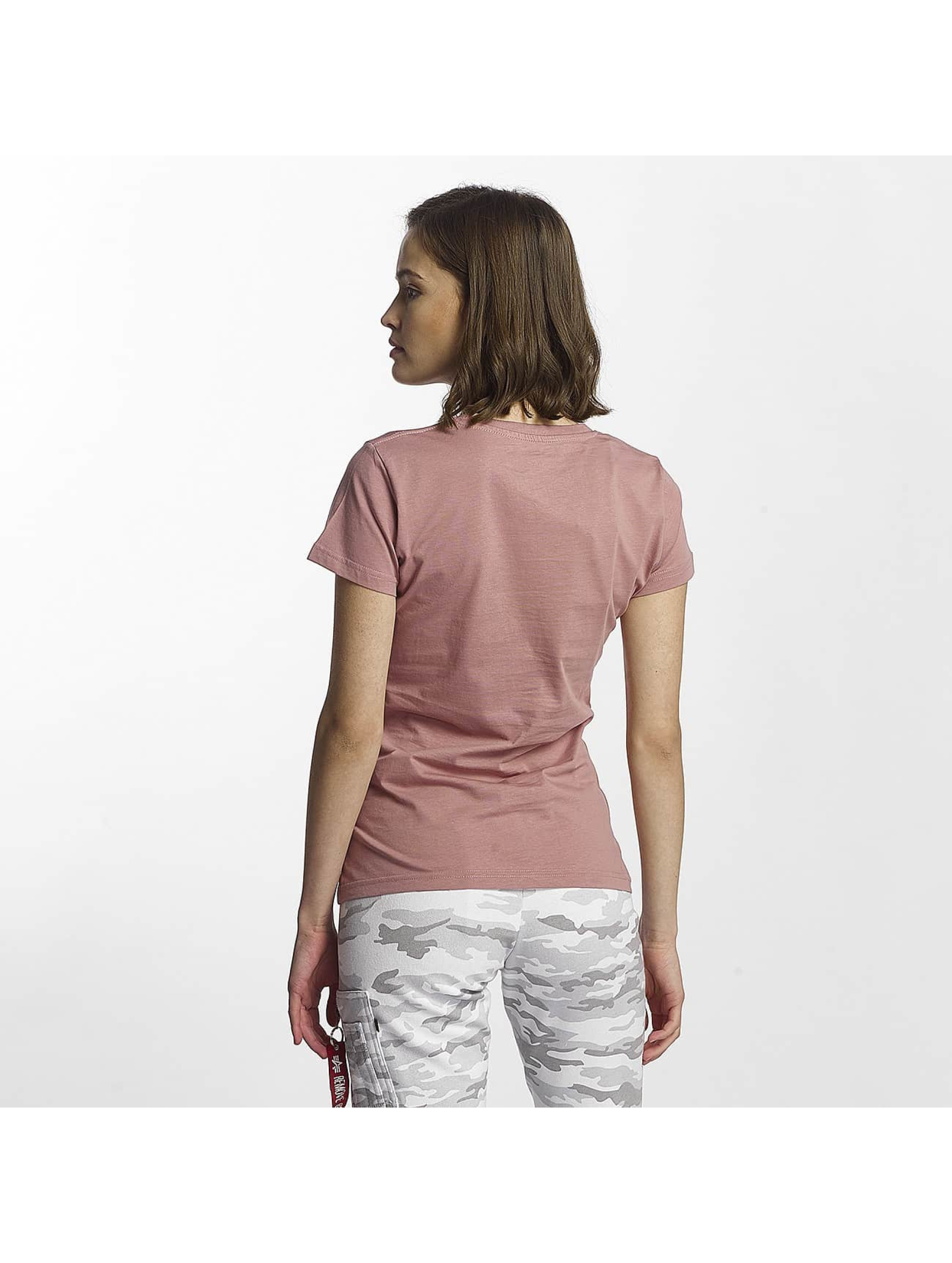 Alpha Industries T-Shirty Logo pink