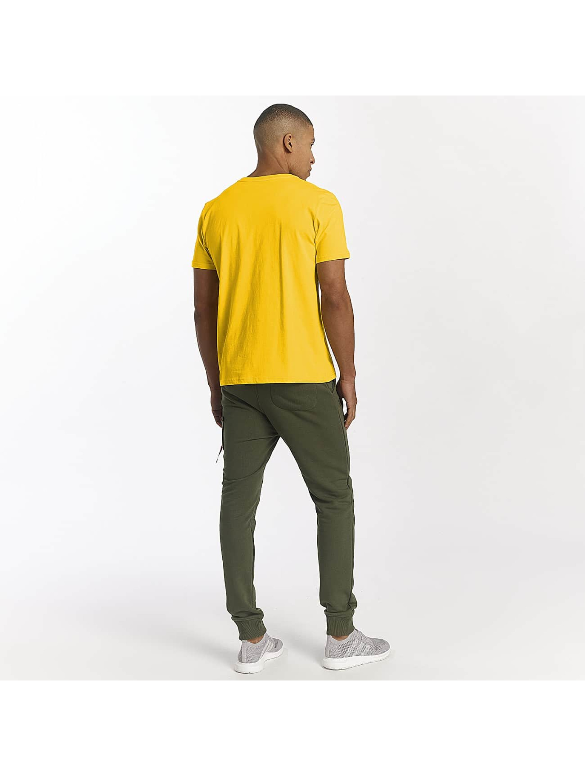 Alpha Industries T-Shirty Basic zólty