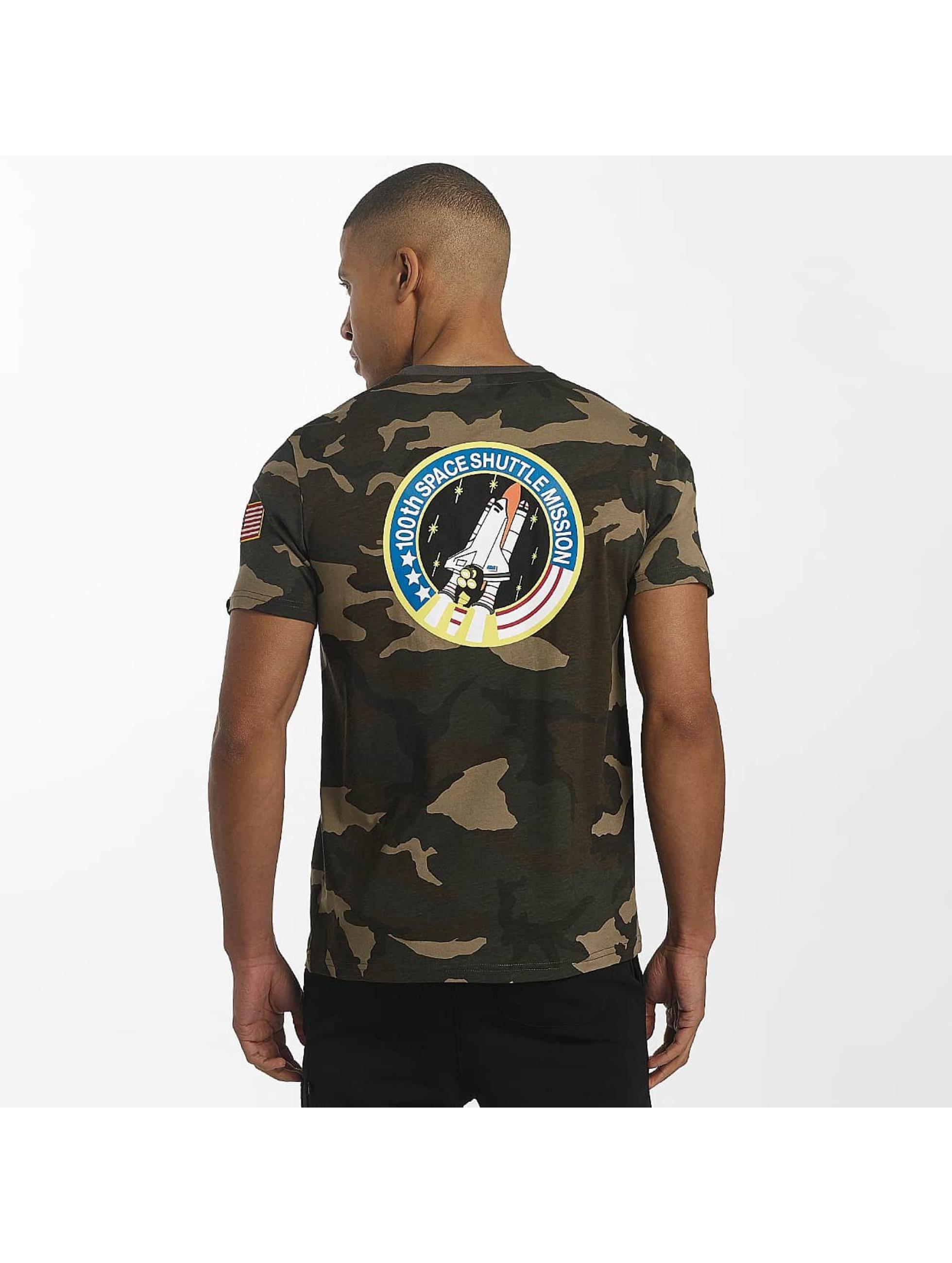 Alpha Industries T-skjorter Space Shuttle kamuflasje