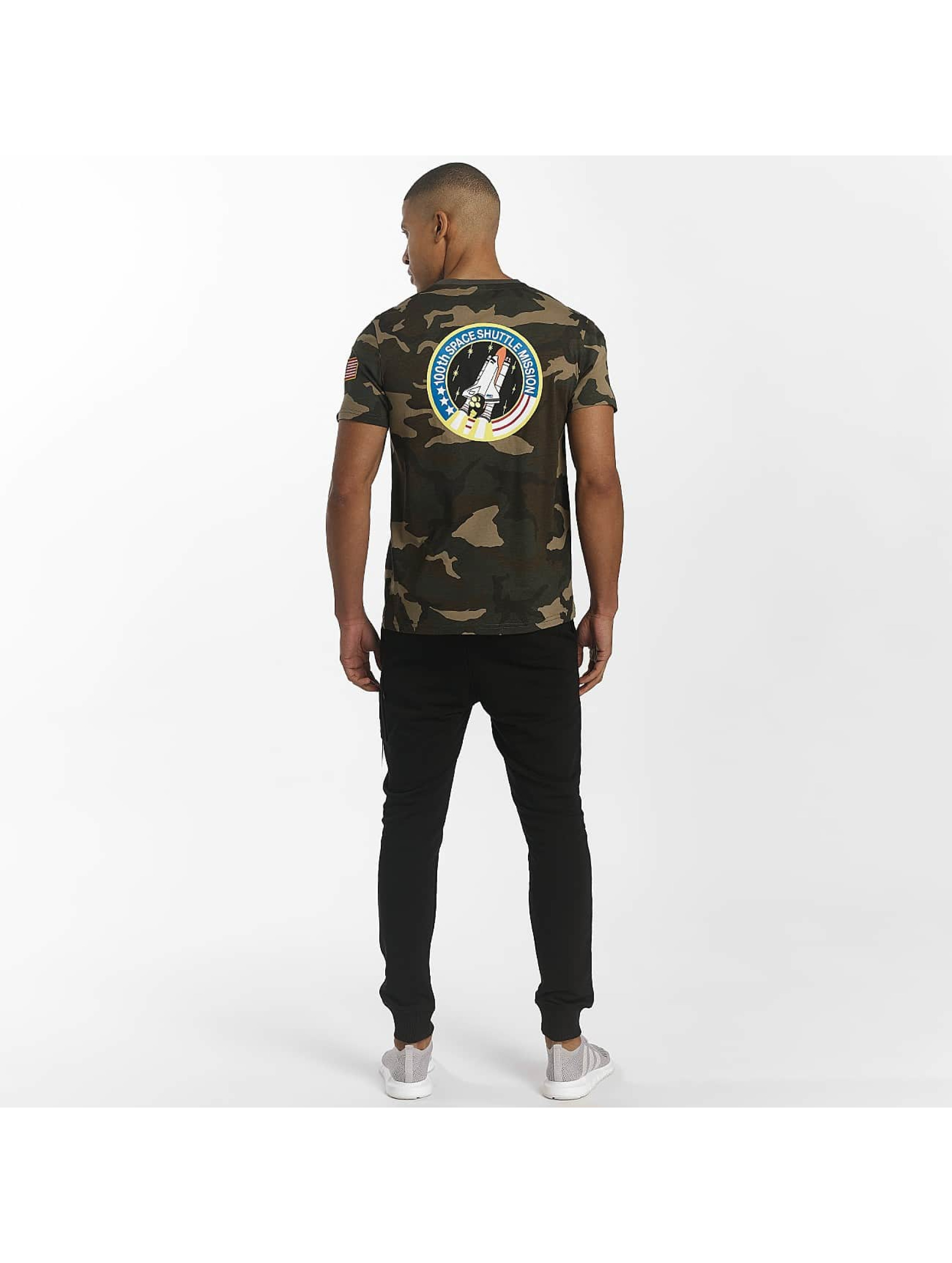 Alpha Industries T-skjorter Space Shuttle kamuflasje
