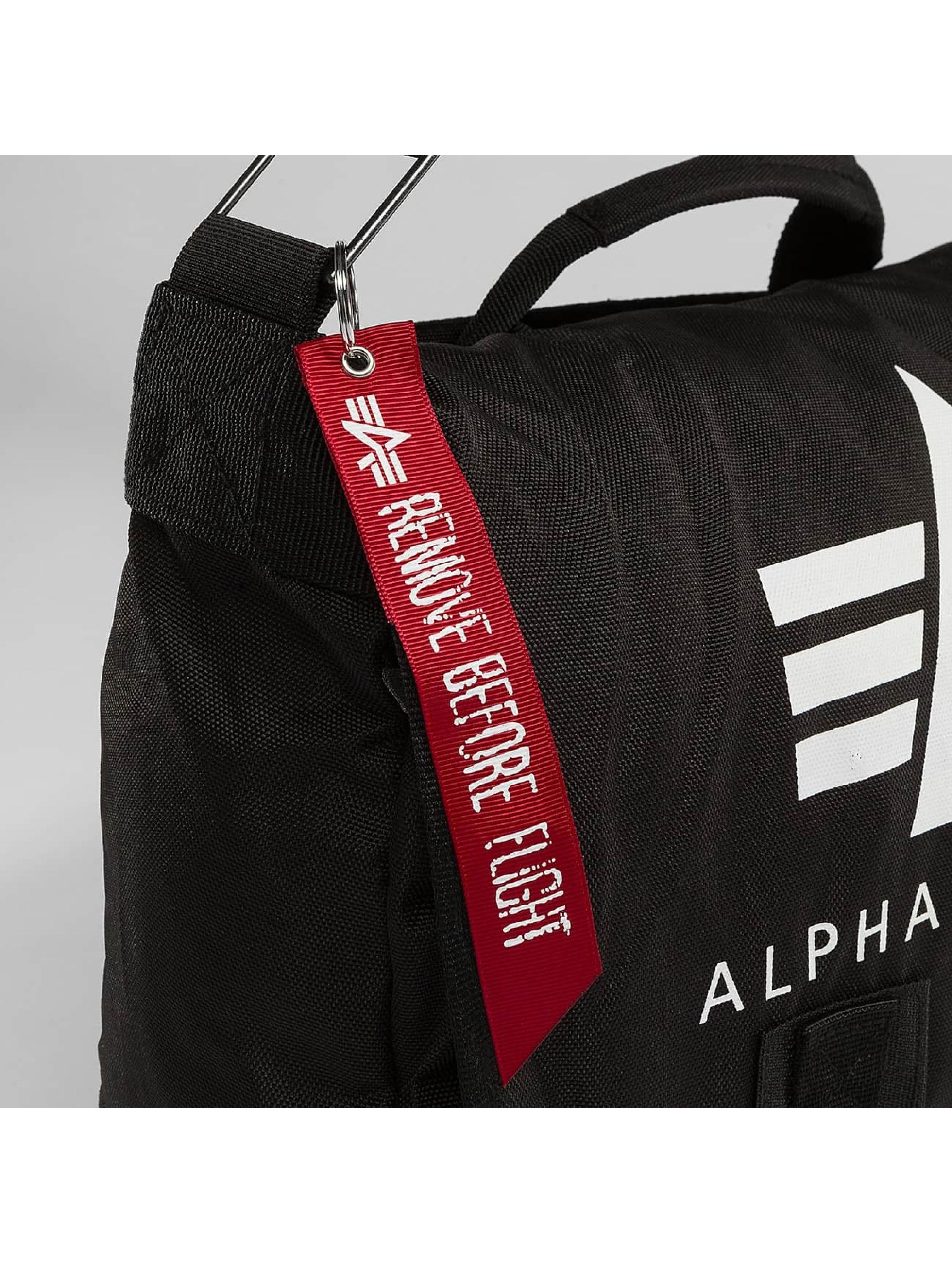 Alpha Industries Torby Big A Oxford Courier czarny