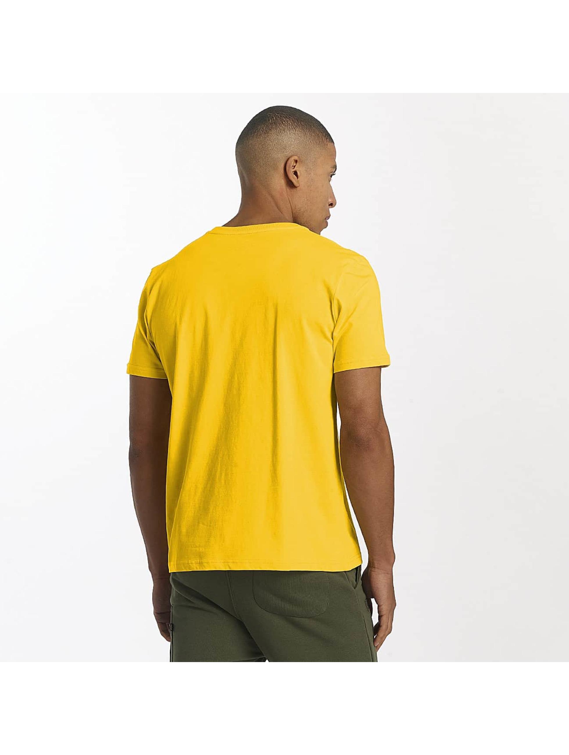 Alpha Industries Tričká Basic žltá