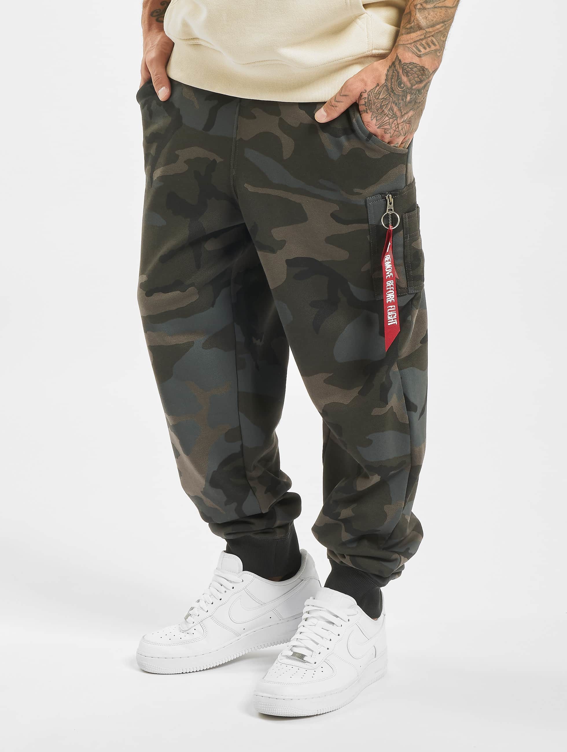 Alpha Industries Verryttelyhousut X-Fit Cargo camouflage