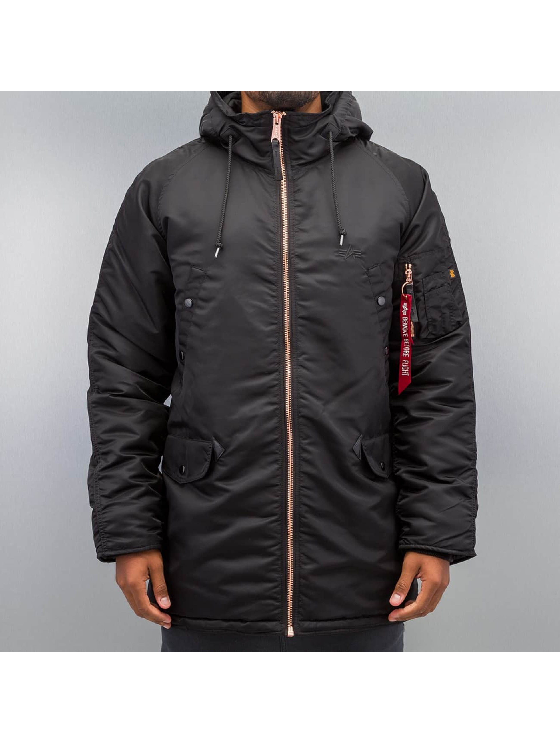Alpha Industries Winterjacke N3-B PM schwarz