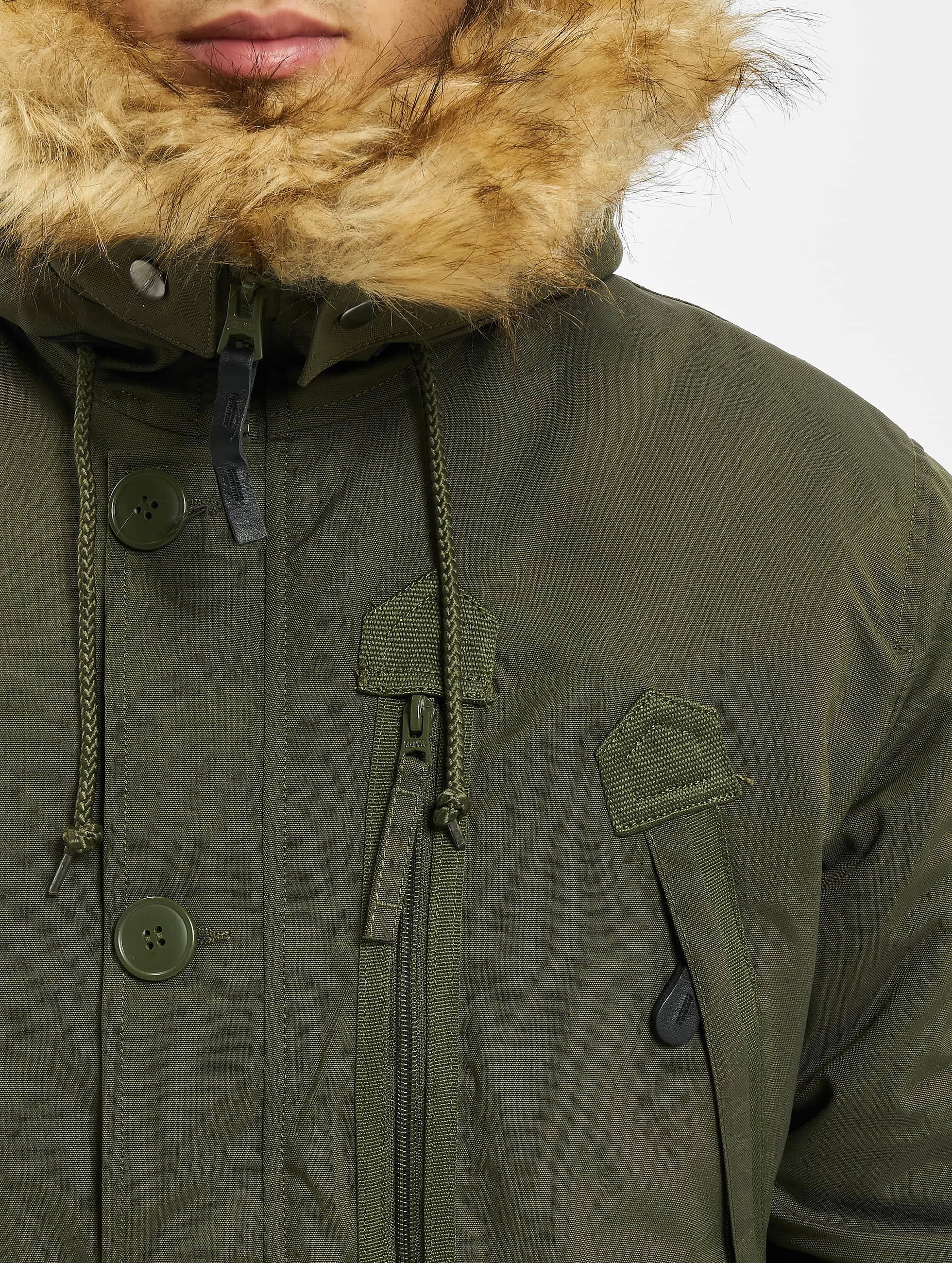 Alpha Industries winterjas Polar groen