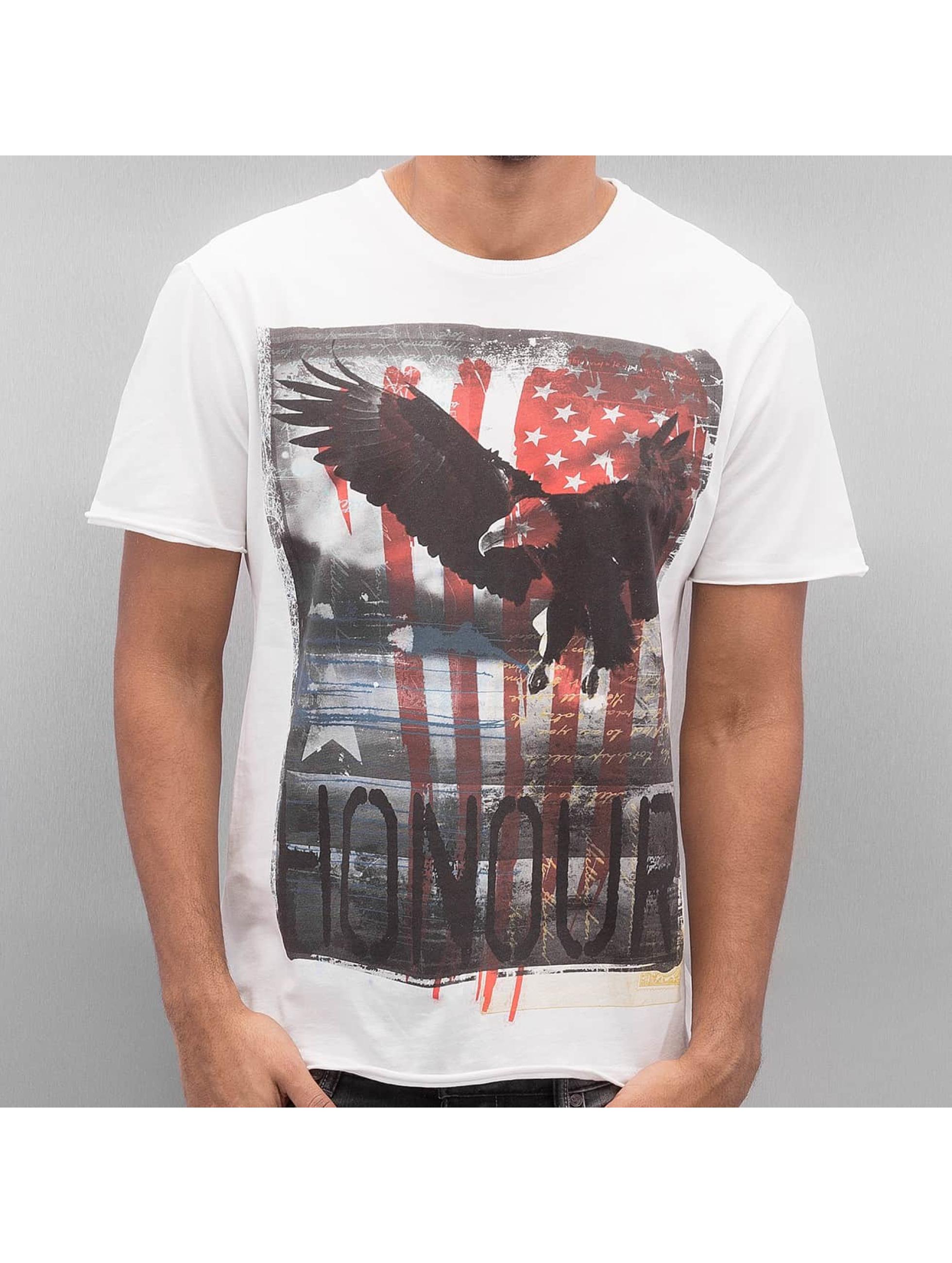 Amplified T-paidat Honor valkoinen