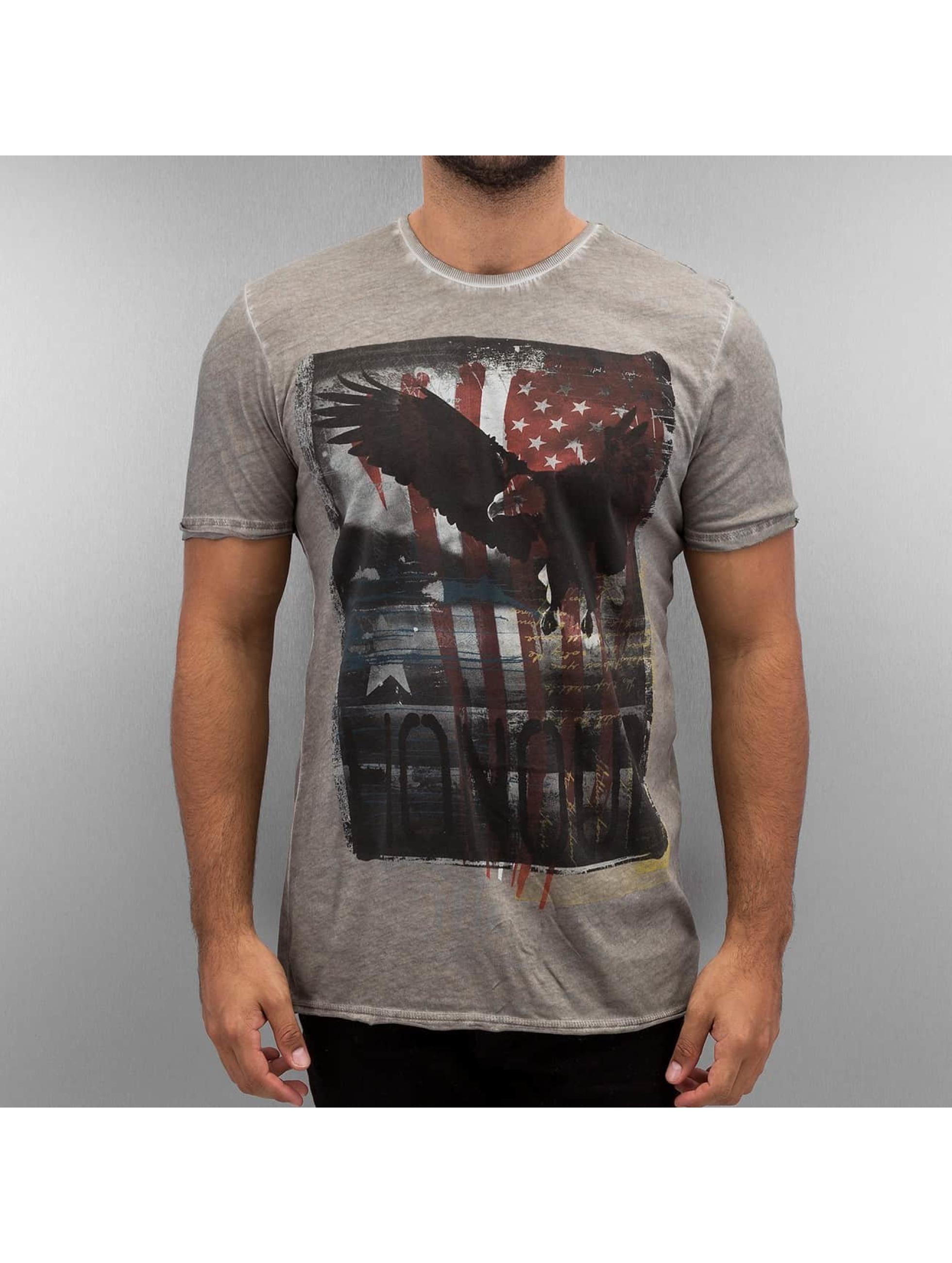 Amplified T-shirt Honor grå