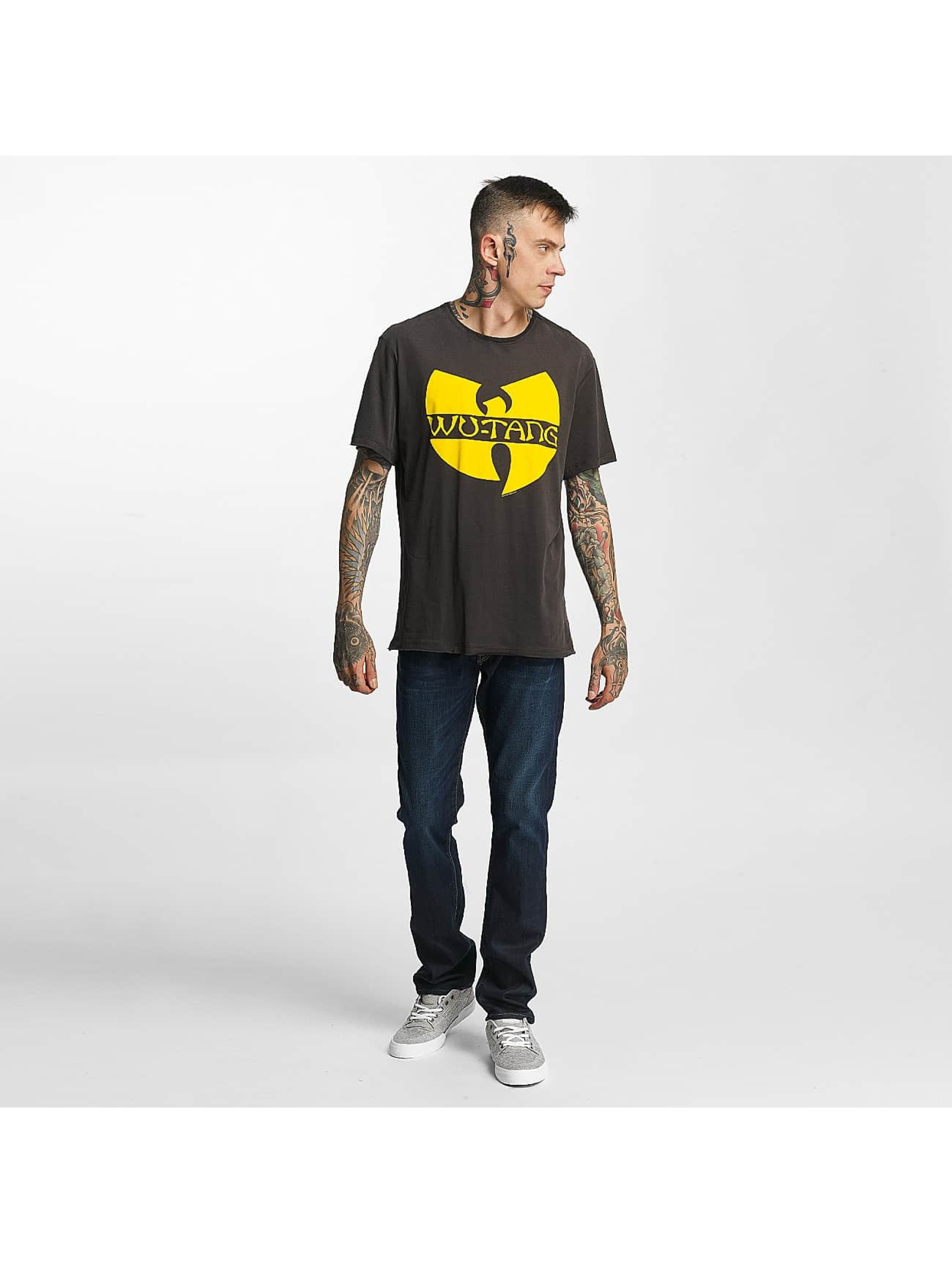 Amplified T-Shirt Wu Tang Logo grau