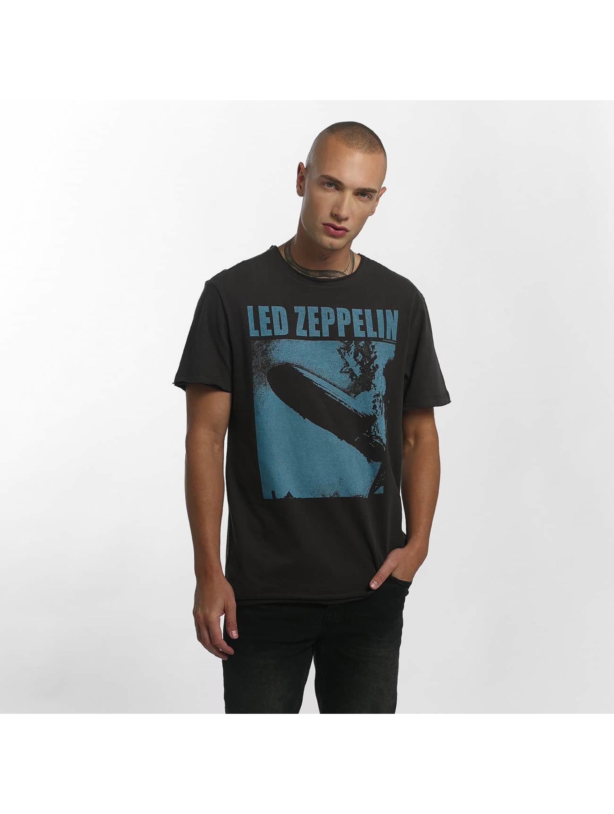 Amplified T-Shirt Led Zeppelin Blimp Square grau