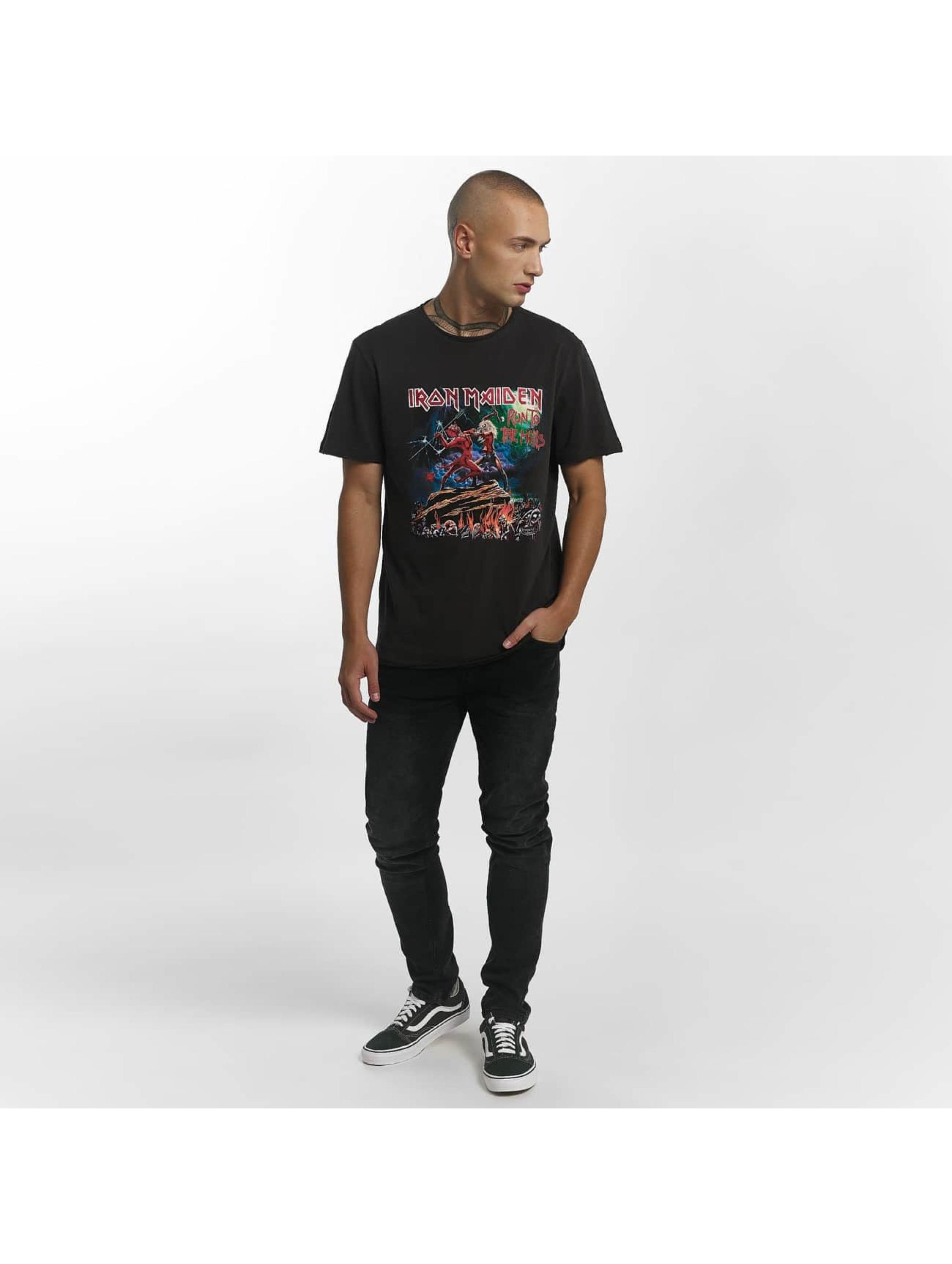 Amplified T-Shirt Iron Maiden Run To The Hills grau