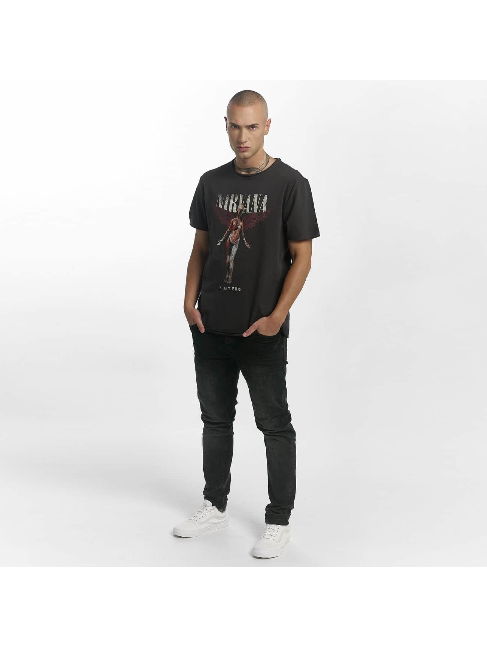 Amplified T-Shirt Nirvana In Utero grau