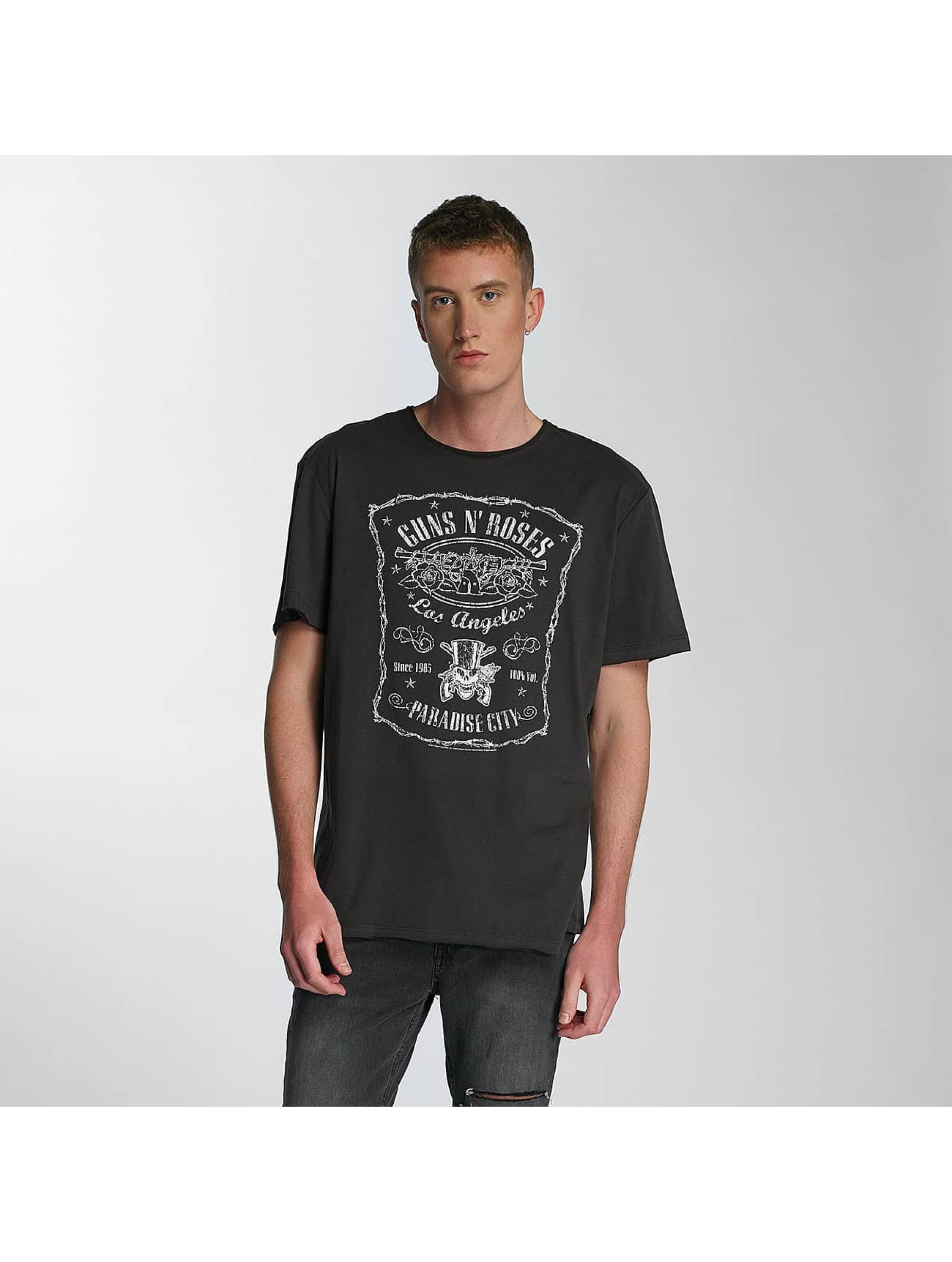 Amplified T-Shirt Guns & Roses LA Paradise City grey