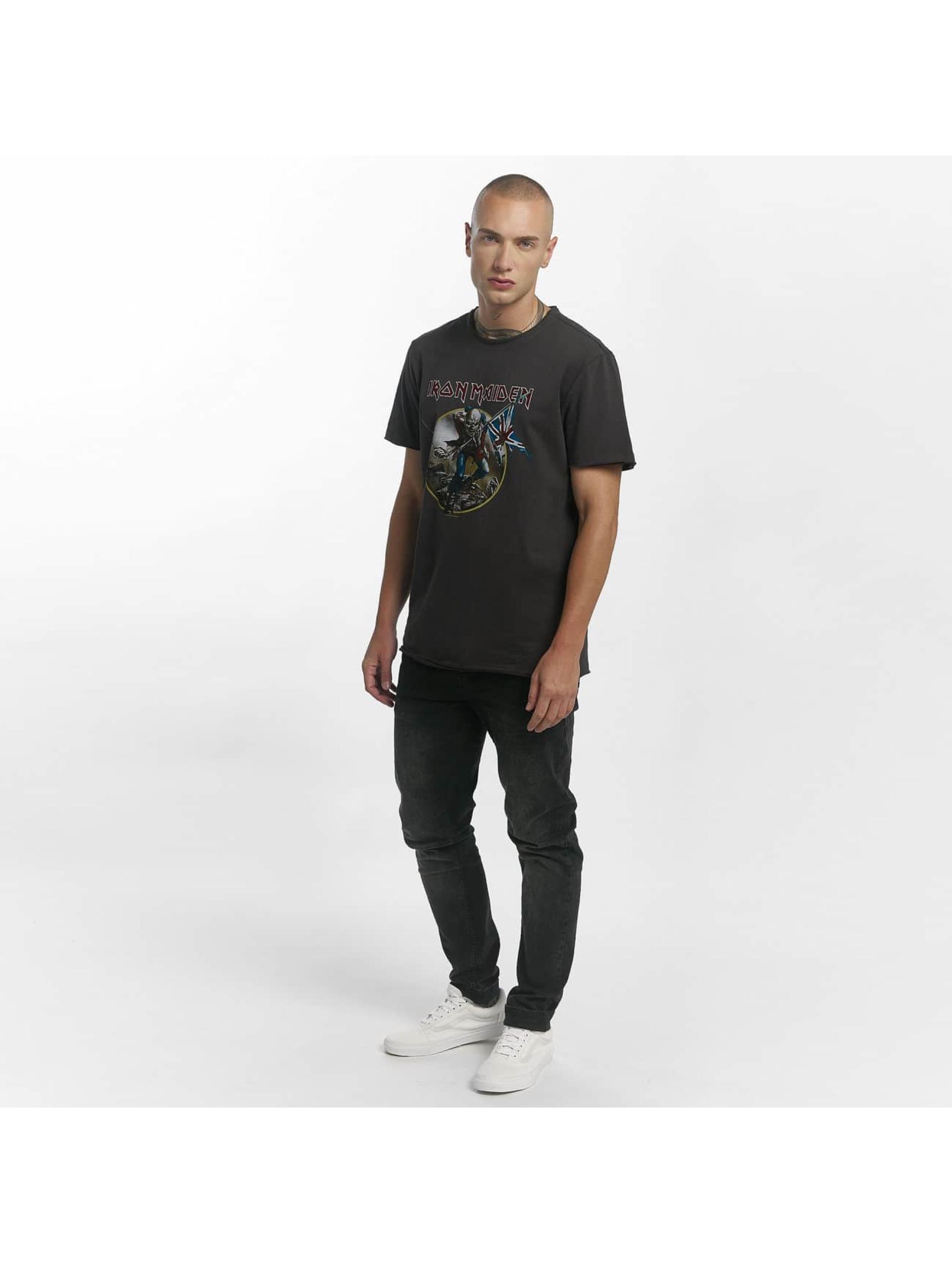 Amplified T-Shirt Iron Maiden Trooper grey