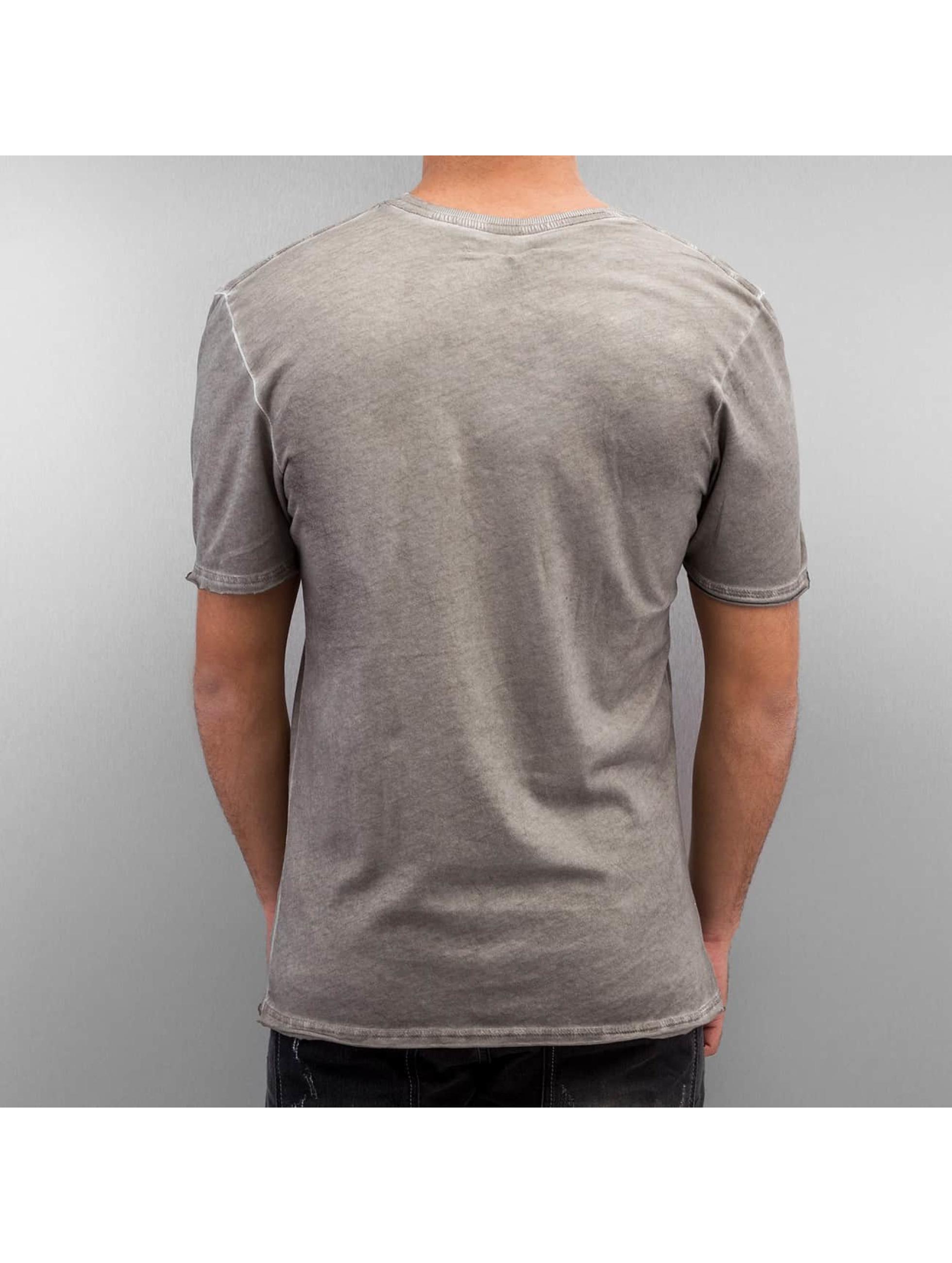Amplified T-shirt Winged Biker grigio