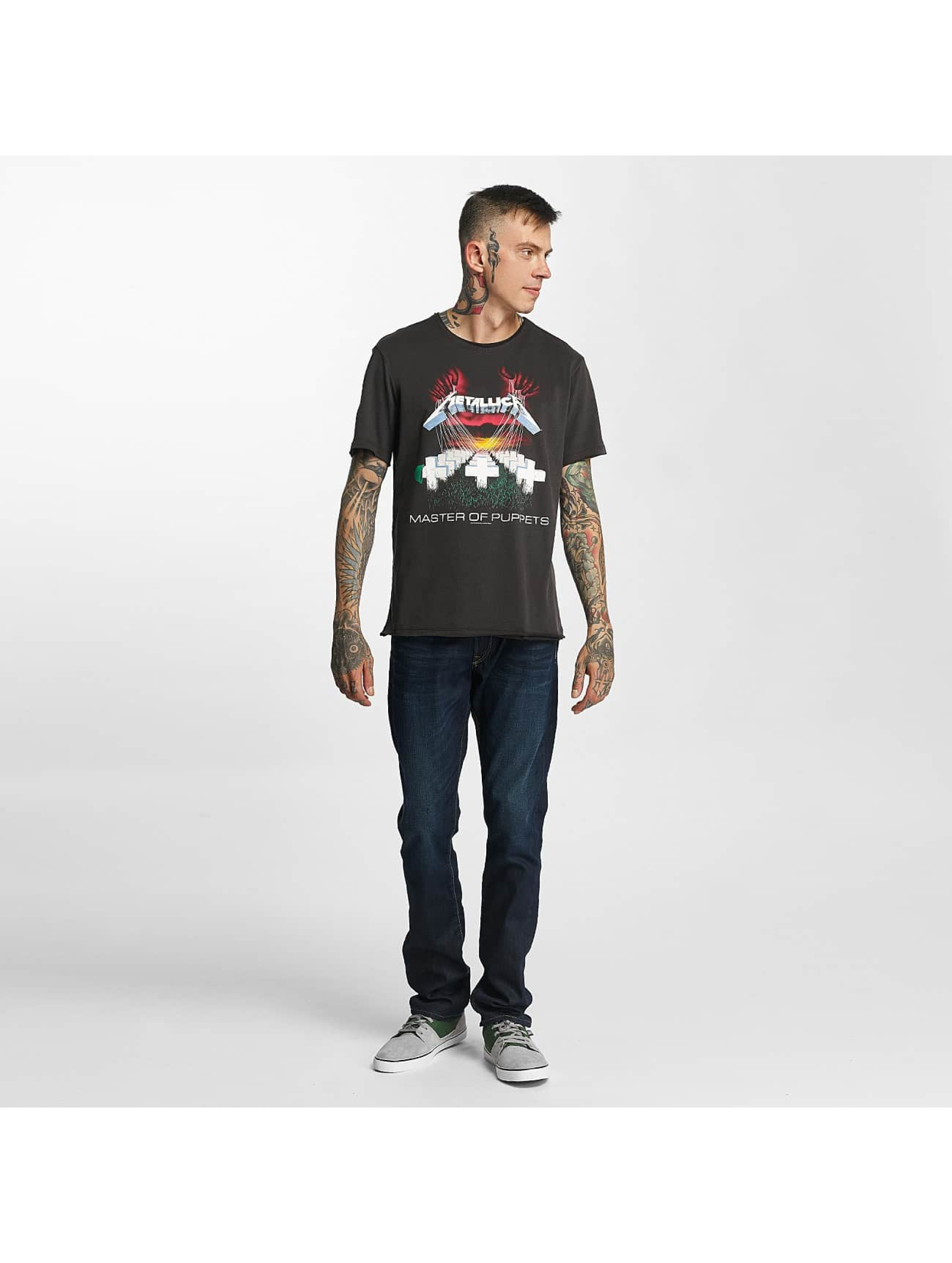 Amplified t-shirt Metallica MOP grijs