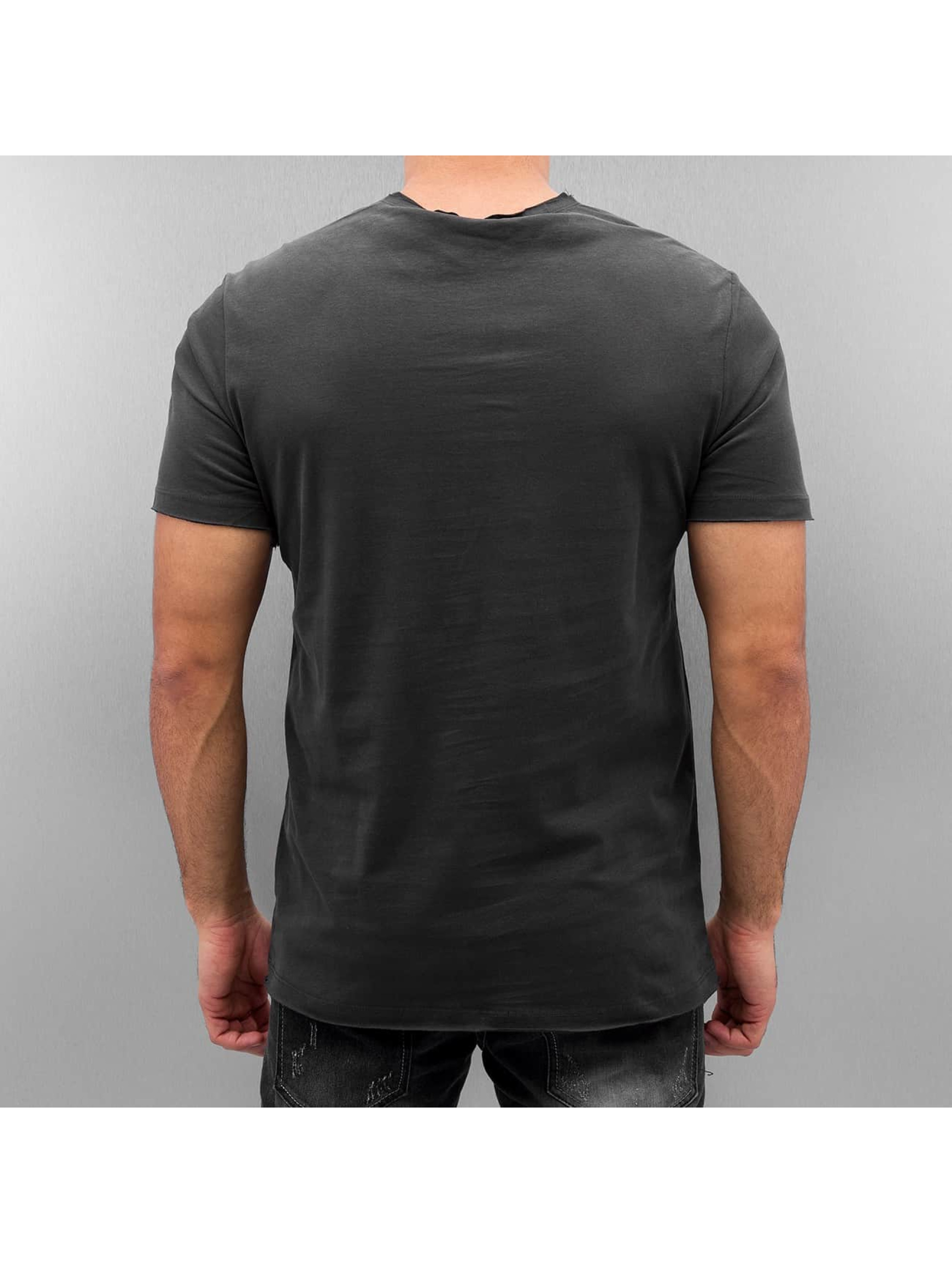 Amplified T-Shirt RUN DMC Logo gris