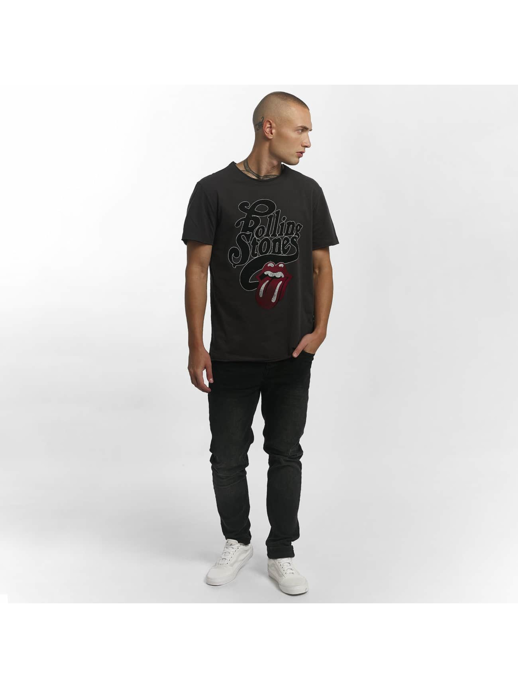 Amplified T-Shirt The Rolling Stones Licked gris