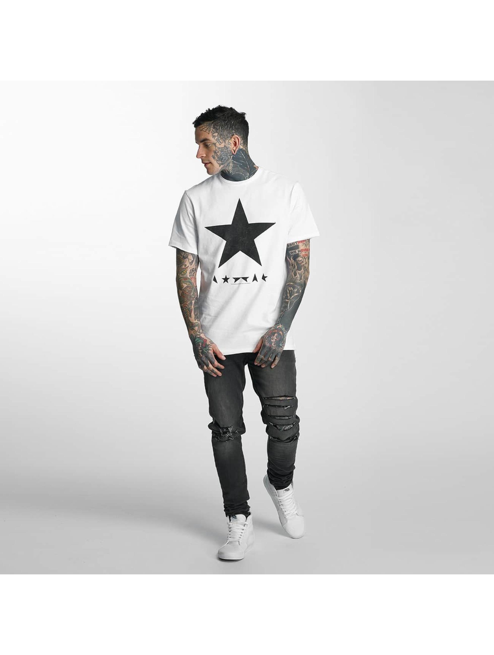Amplified T-Shirt David Bowie Blackstar weiß