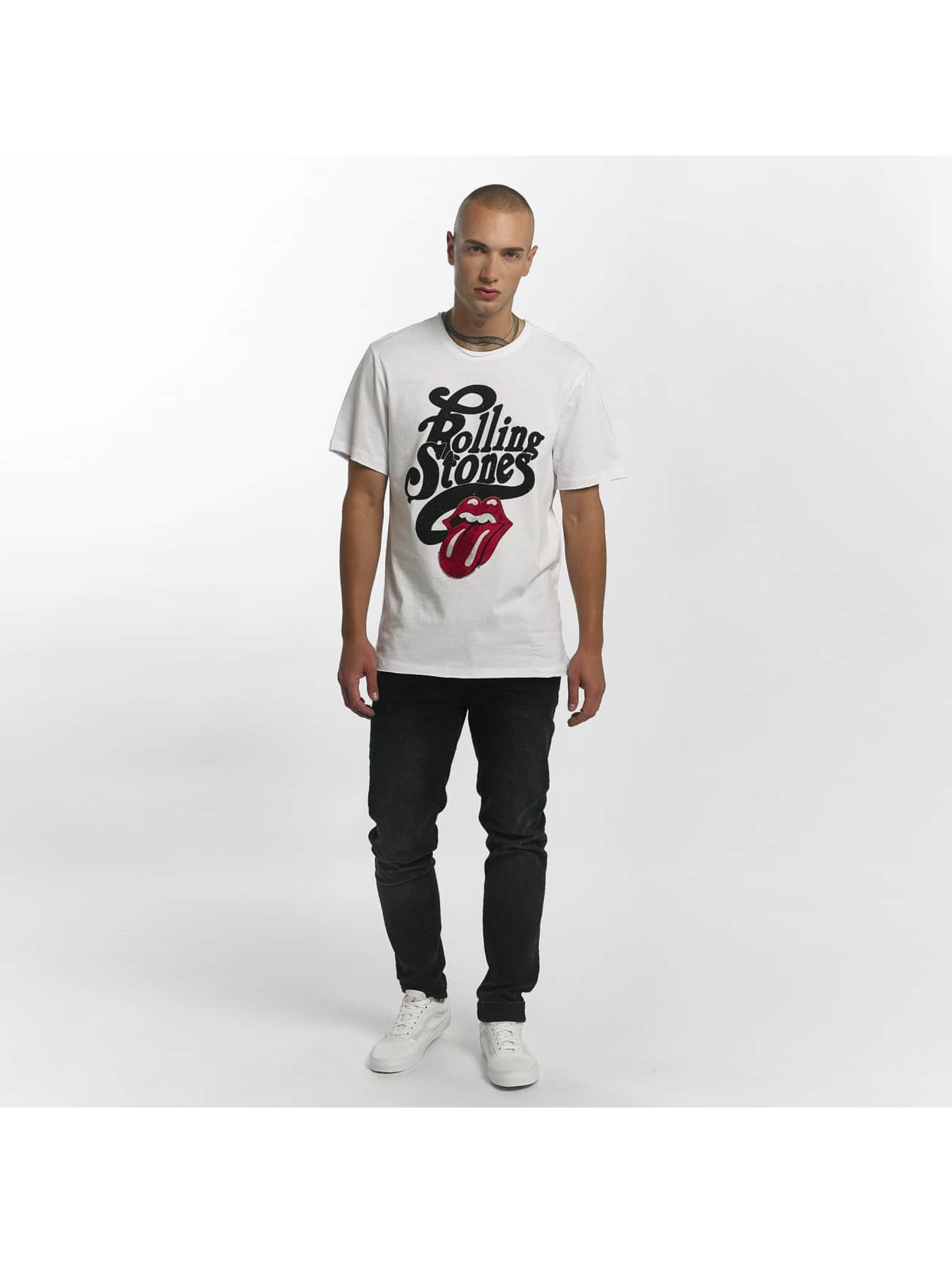 Amplified T-Shirt The Rolling Stones Licked white