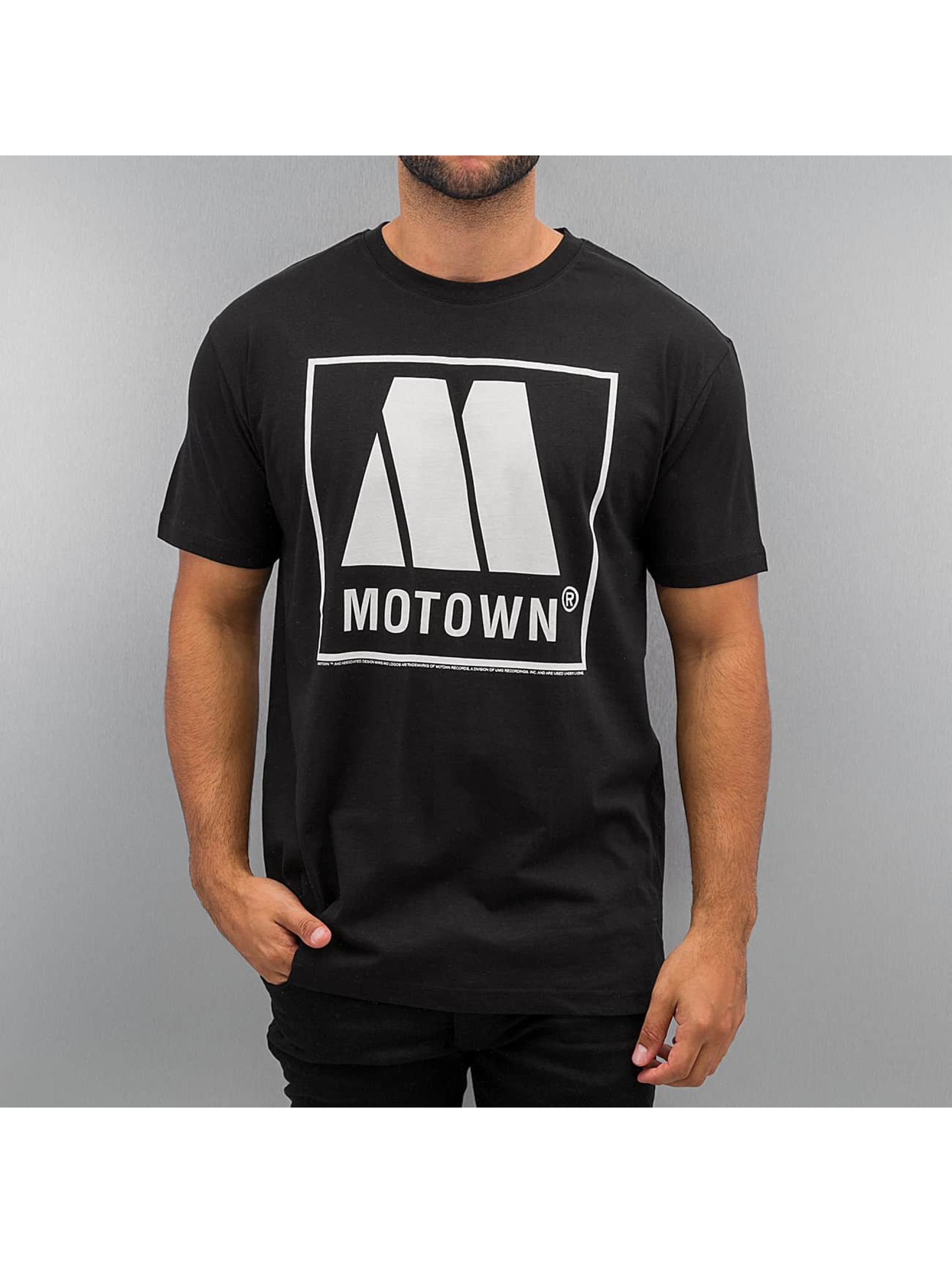 Amplified t-shirt Motown Logo zwart