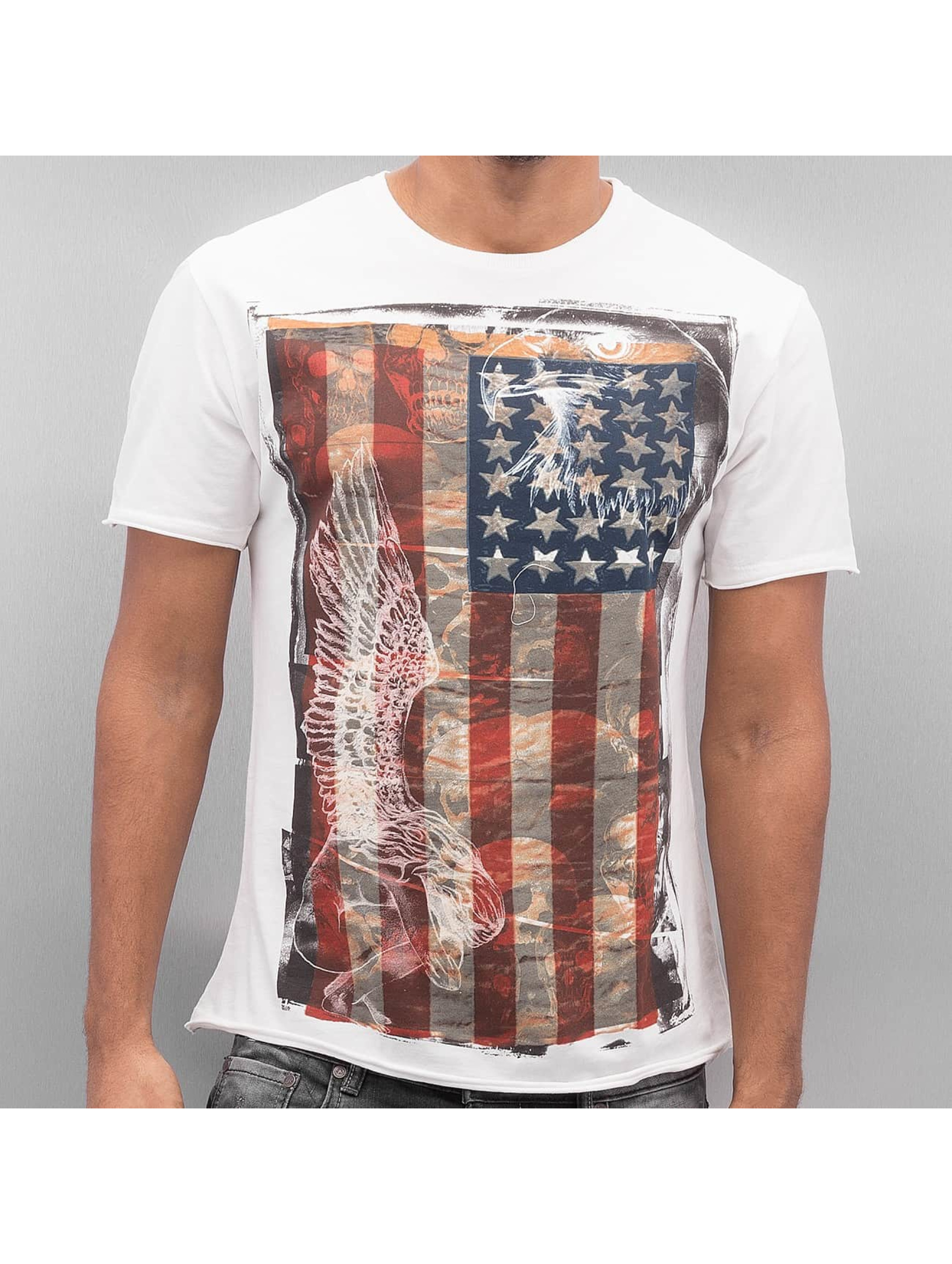 Amplified T-Shirty American Angel T bialy