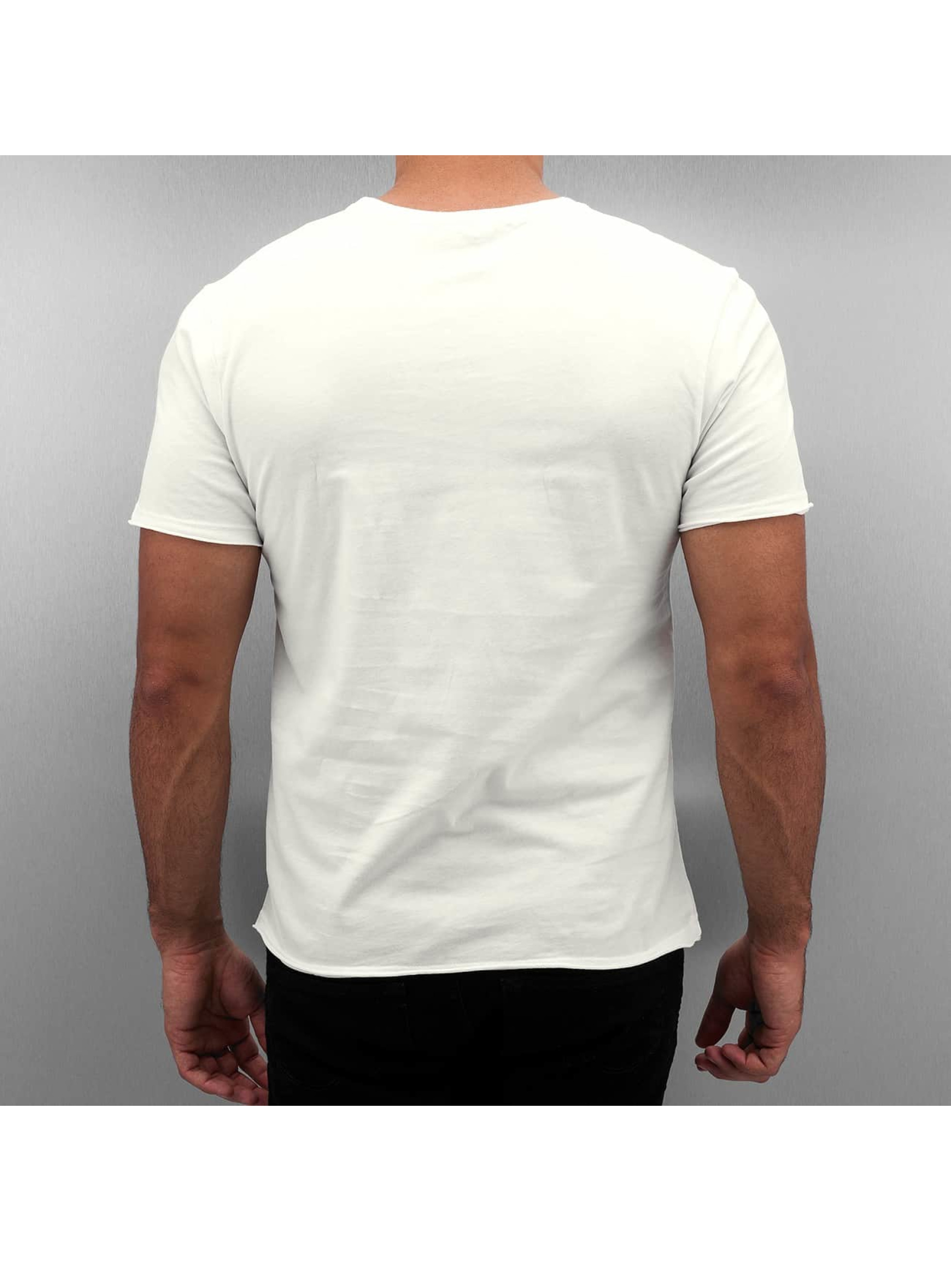 Amplified T-Shirty Winged Biker bialy
