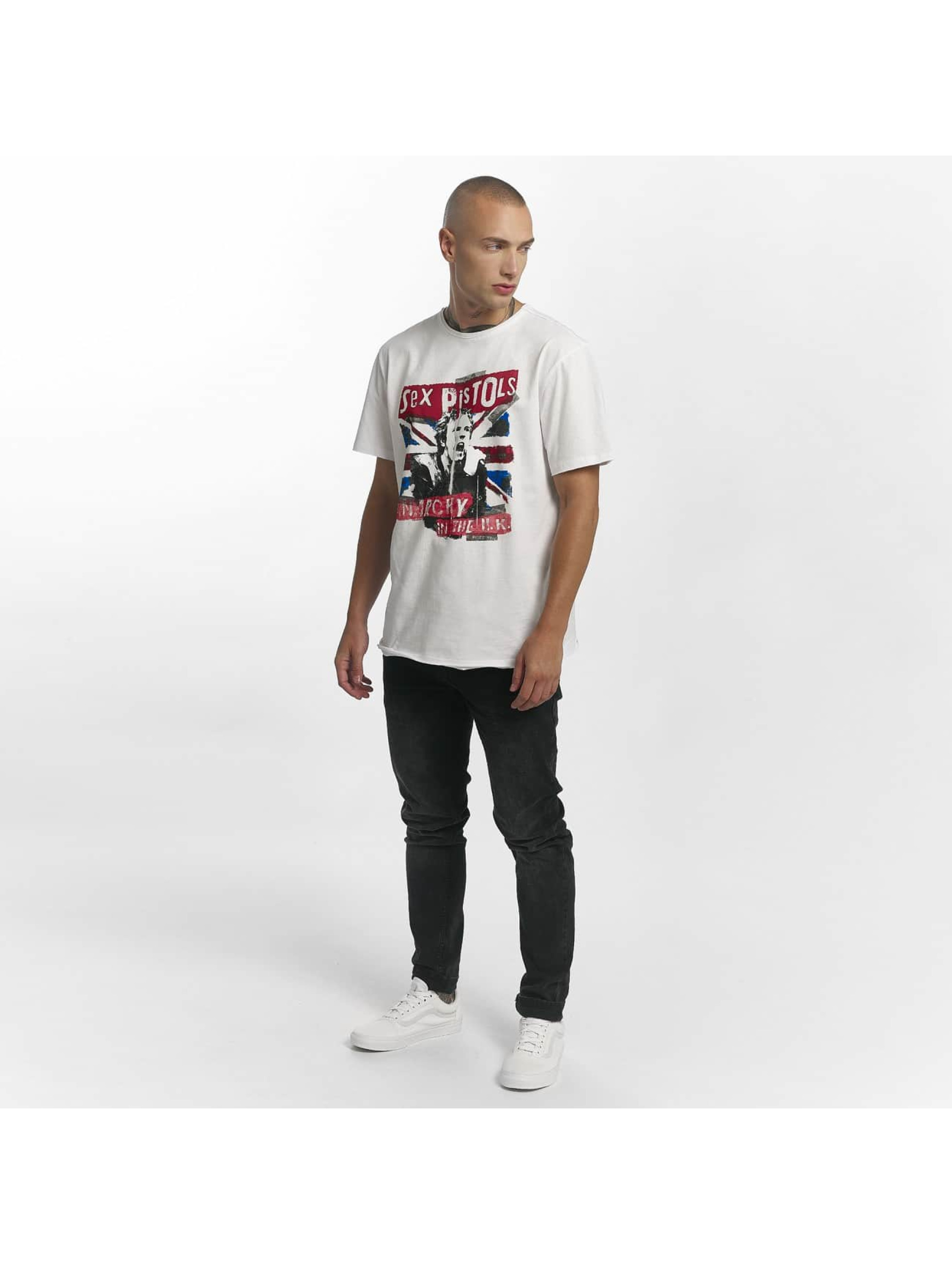 Amplified T-Shirty Sex Pistols Anarchie bialy