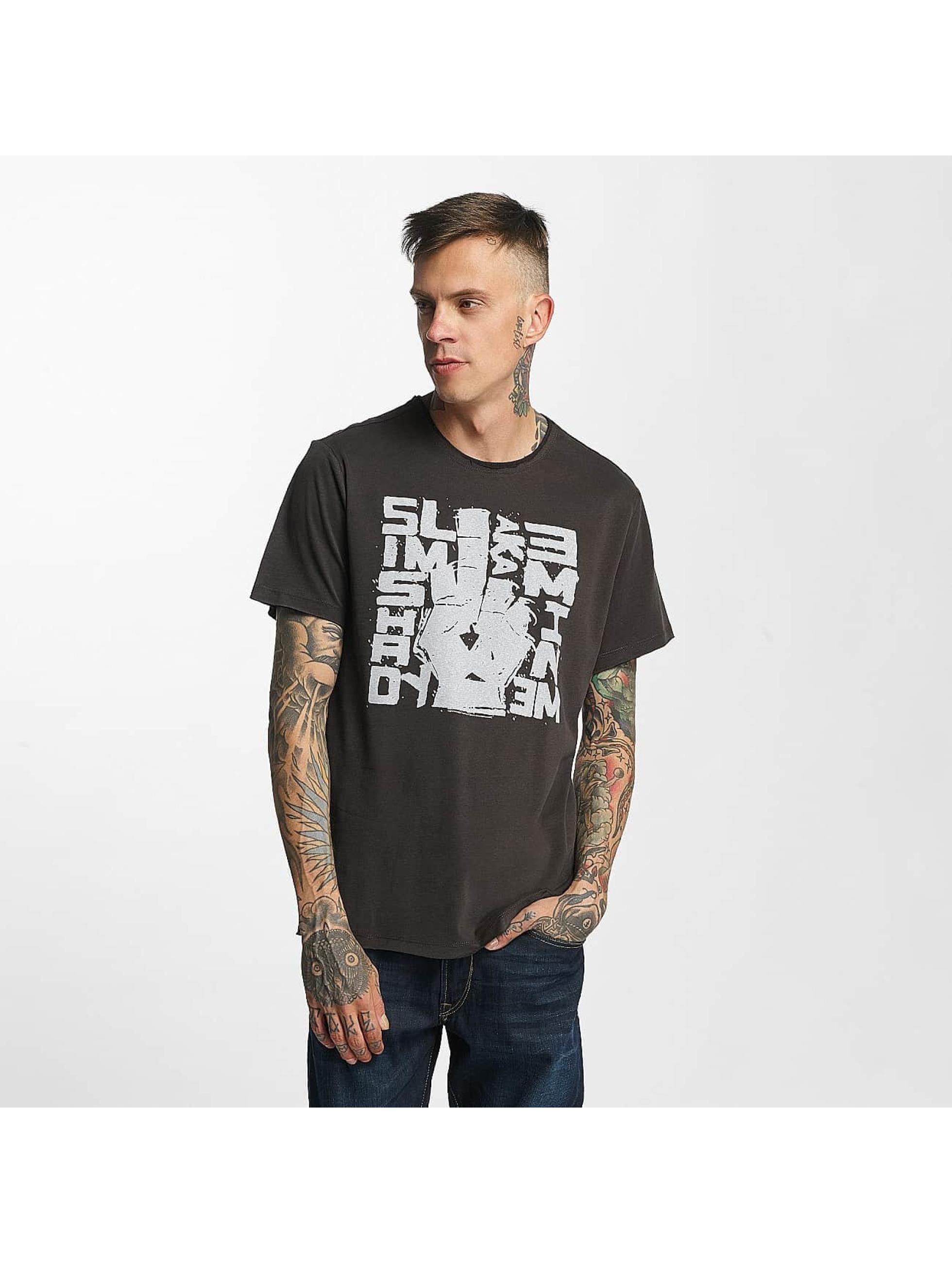 Amplified T-Shirty Eminem Slim Shady szary