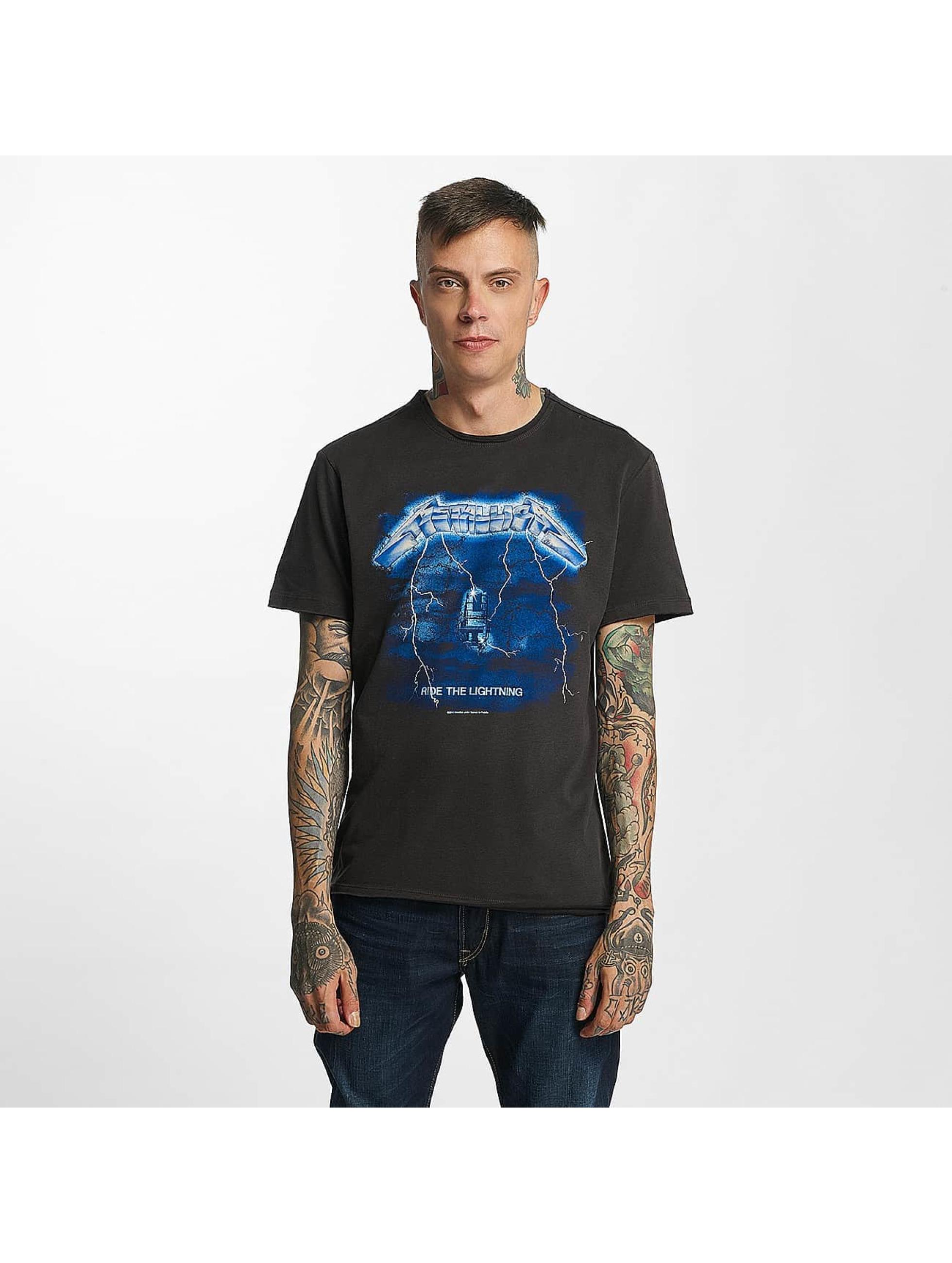 Amplified T-skjorter Metallica Ride The Light grå