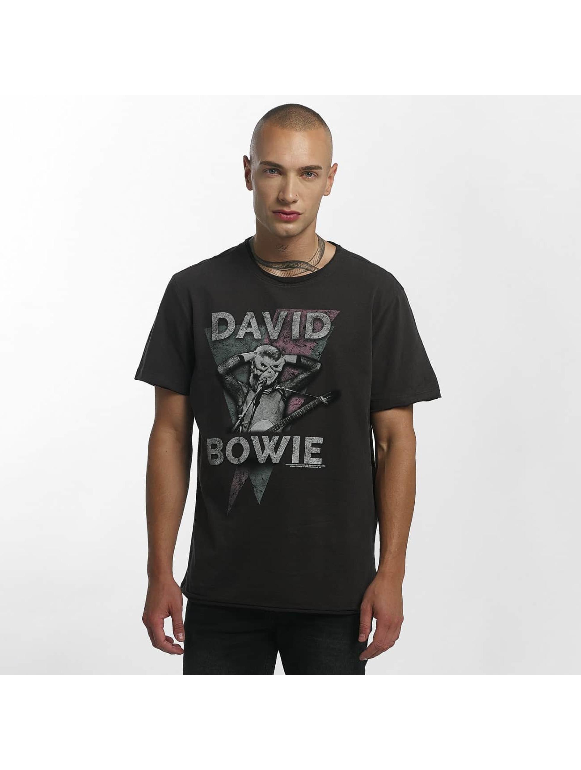 Amplified T-skjorter David Bowie Look Into My Eyes grå