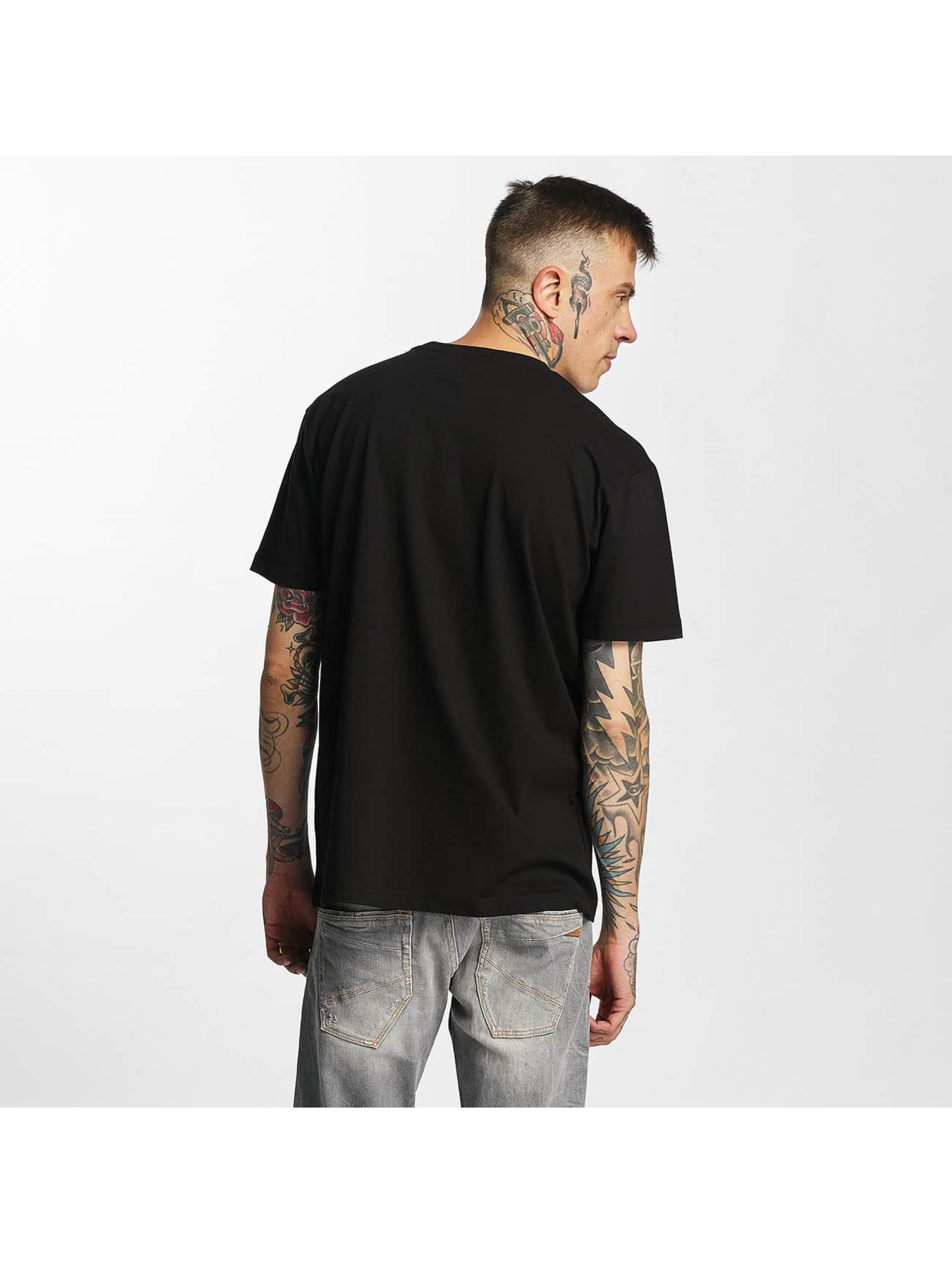 Amplified T-skjorter Snoop Dogg - Dogfather svart